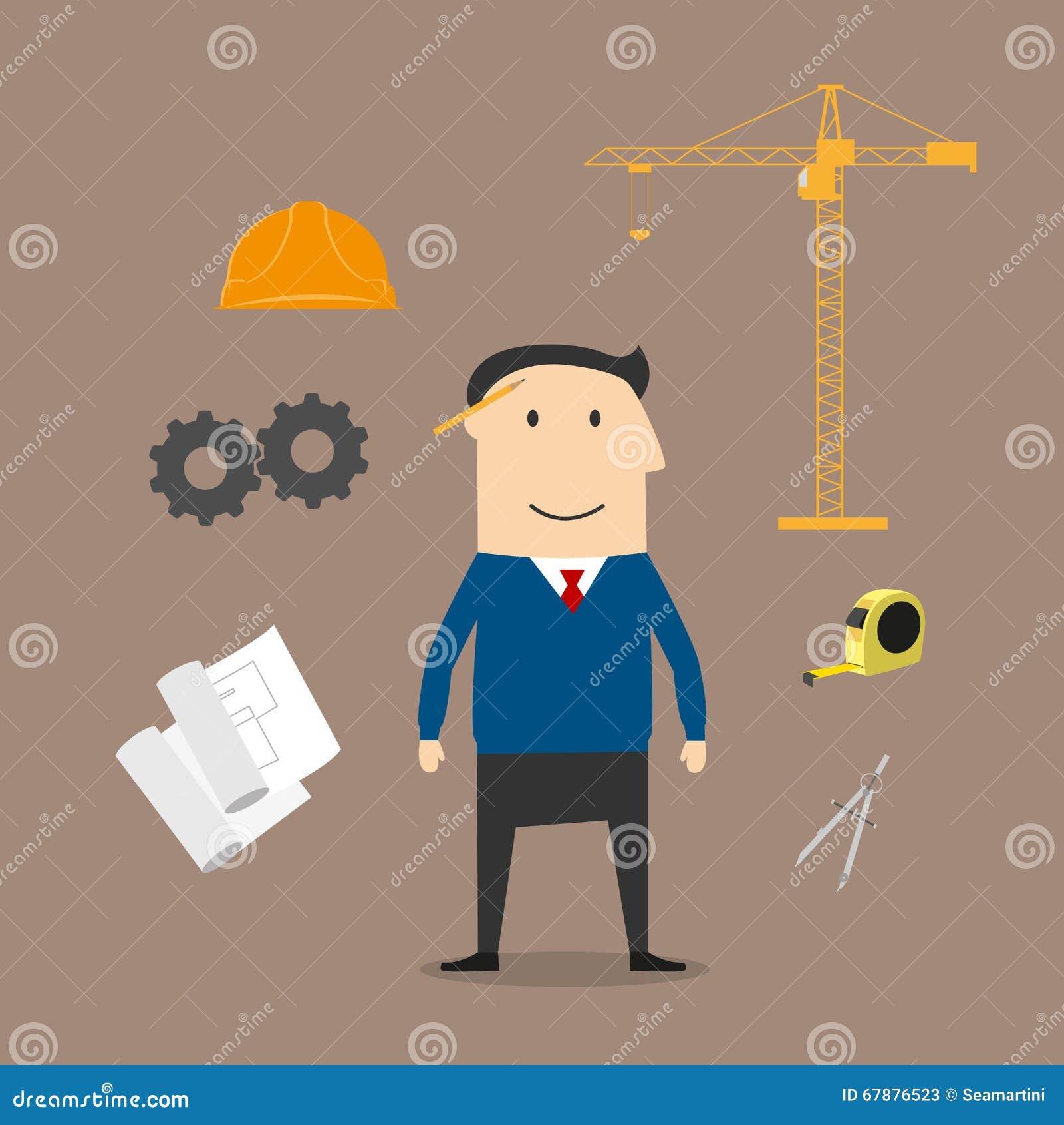 工程师和建筑业象