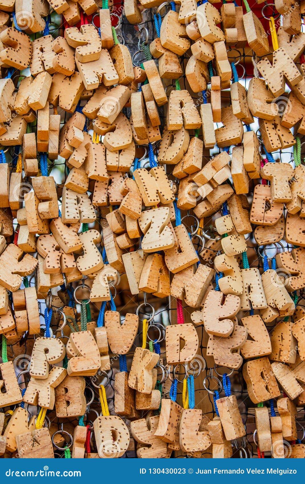 工艺木信件收藏用于建立名字