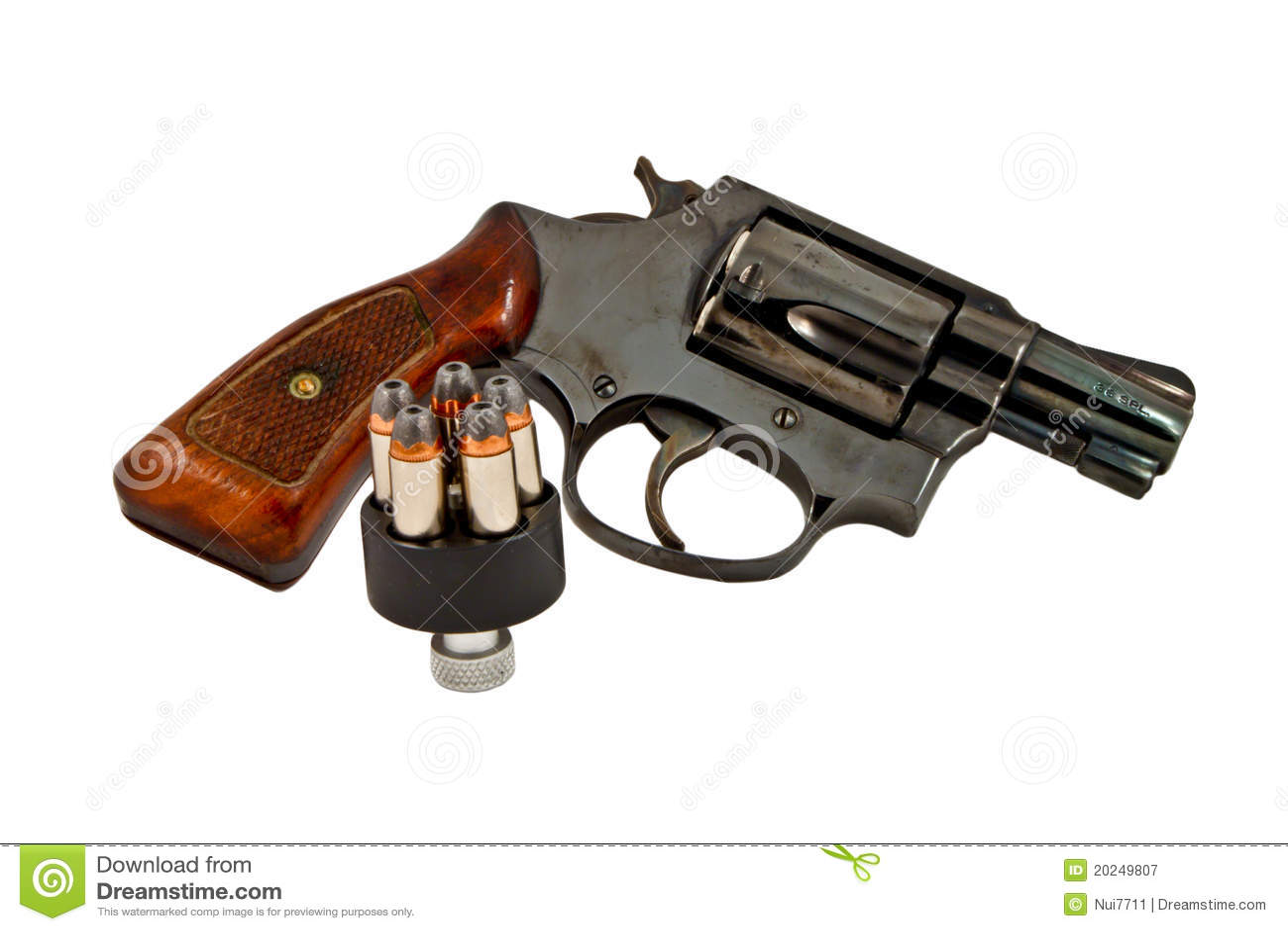 左轮手枪现有量枪