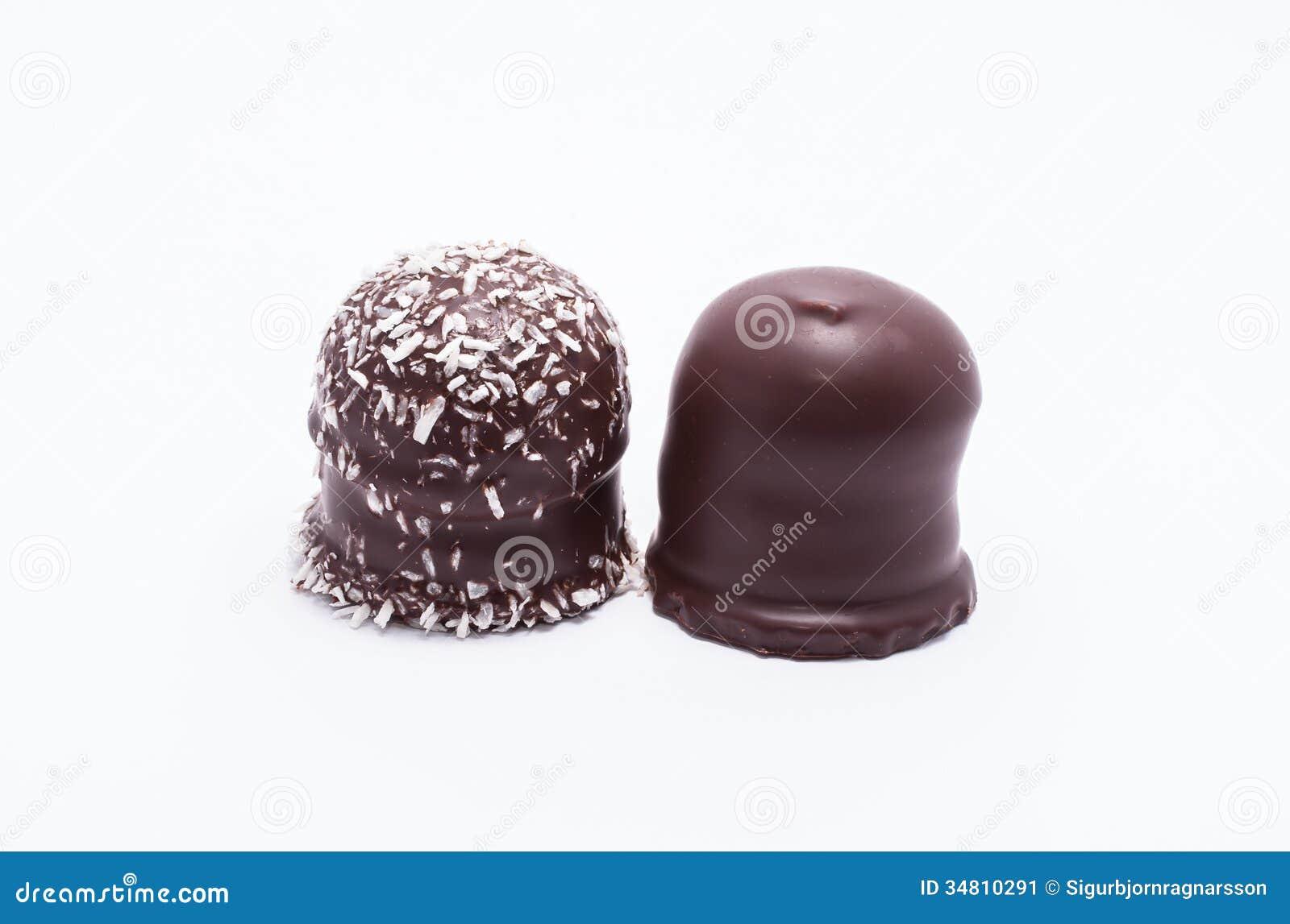 巧克力上面