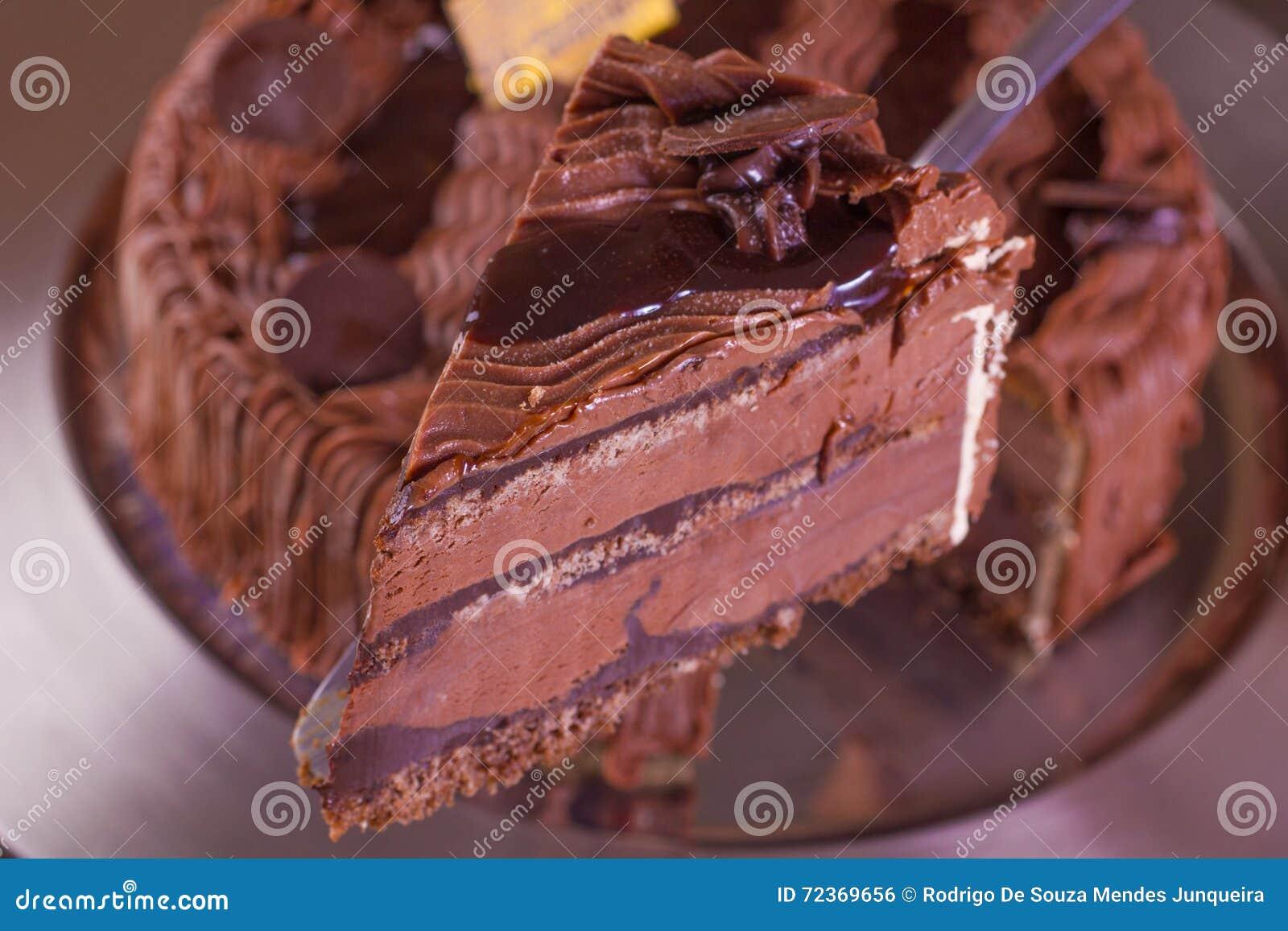 巧克力冰淇凌蛋糕