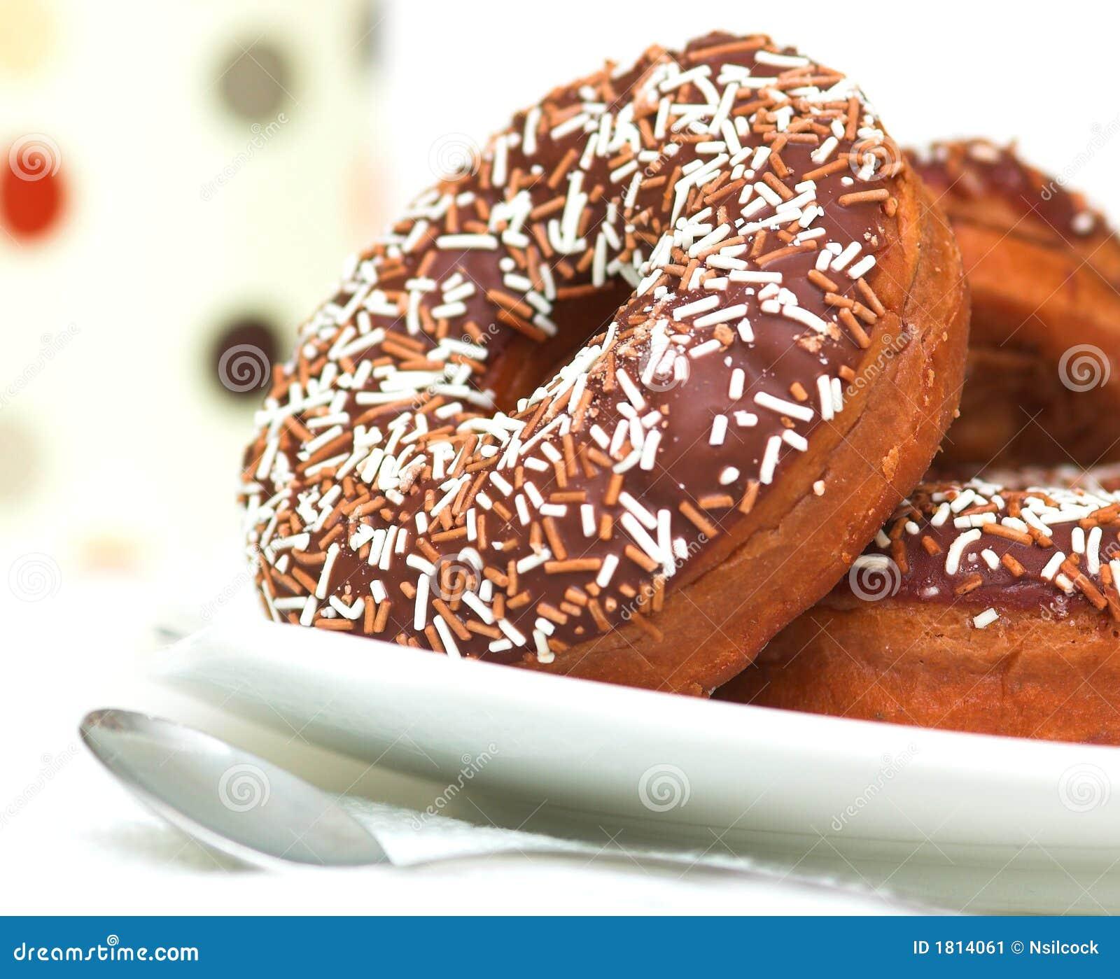 巧克力多福饼冰了环形