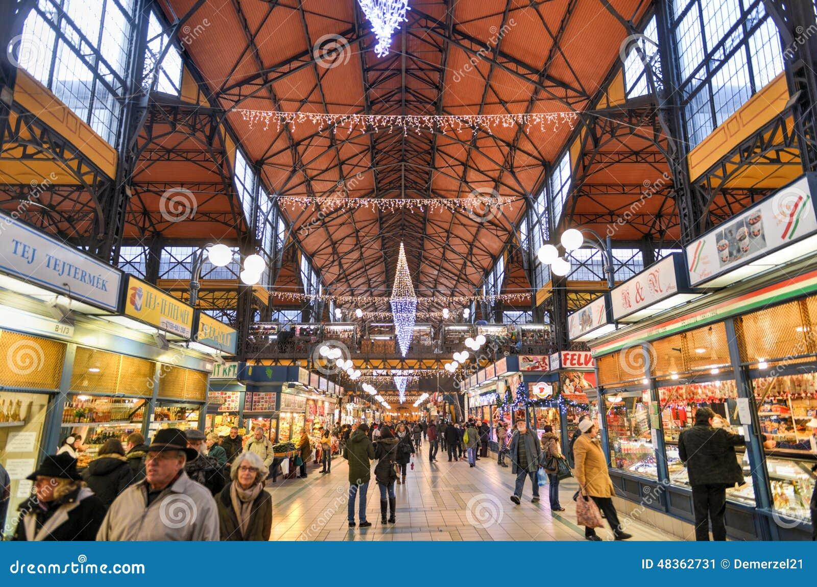 巨大市场霍尔-布达佩斯,匈牙利