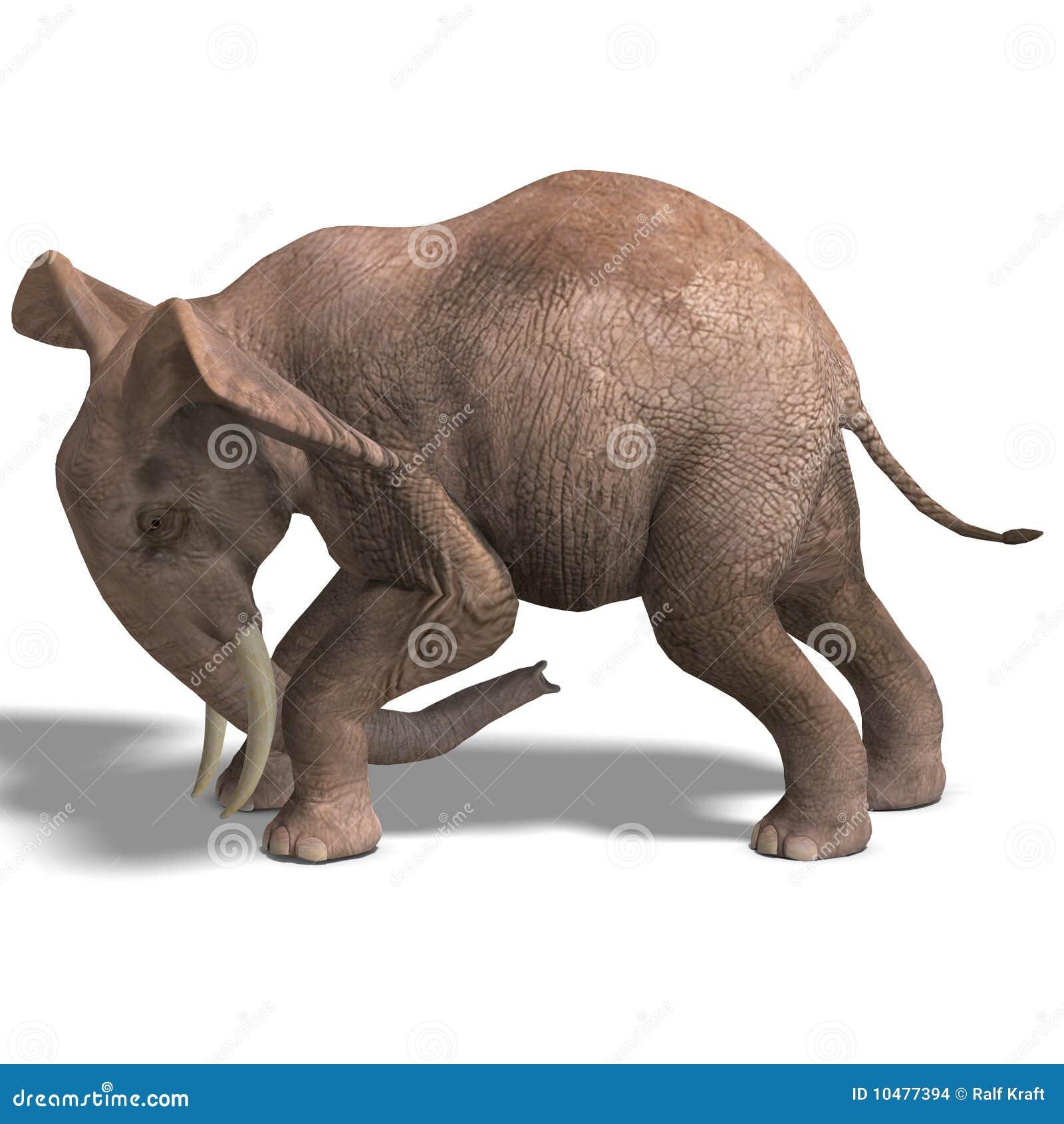 巨大的大象