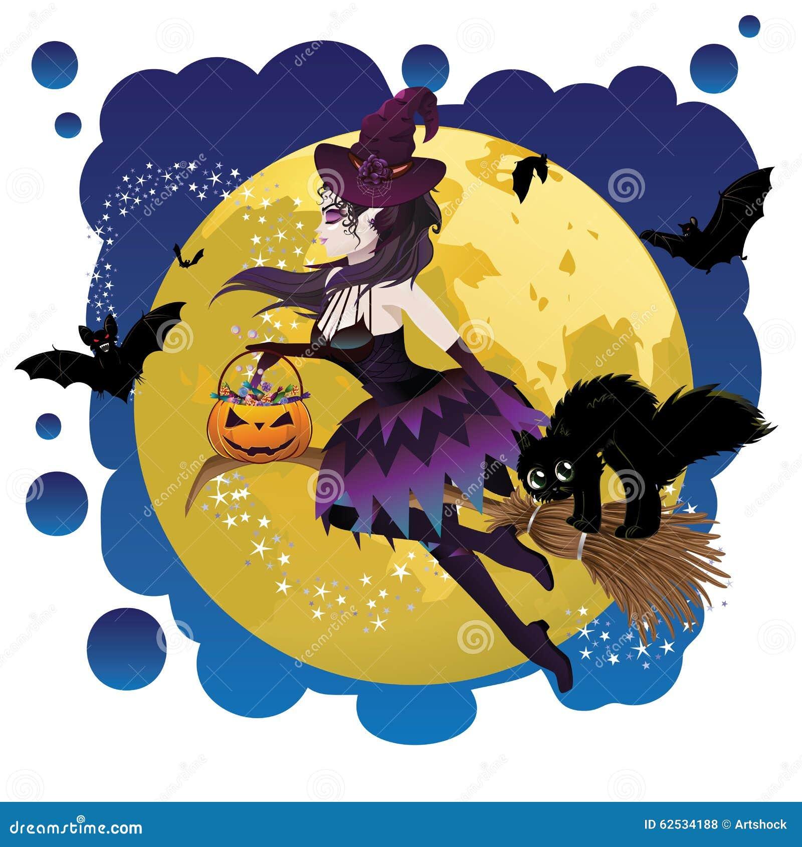 巫婆和满月