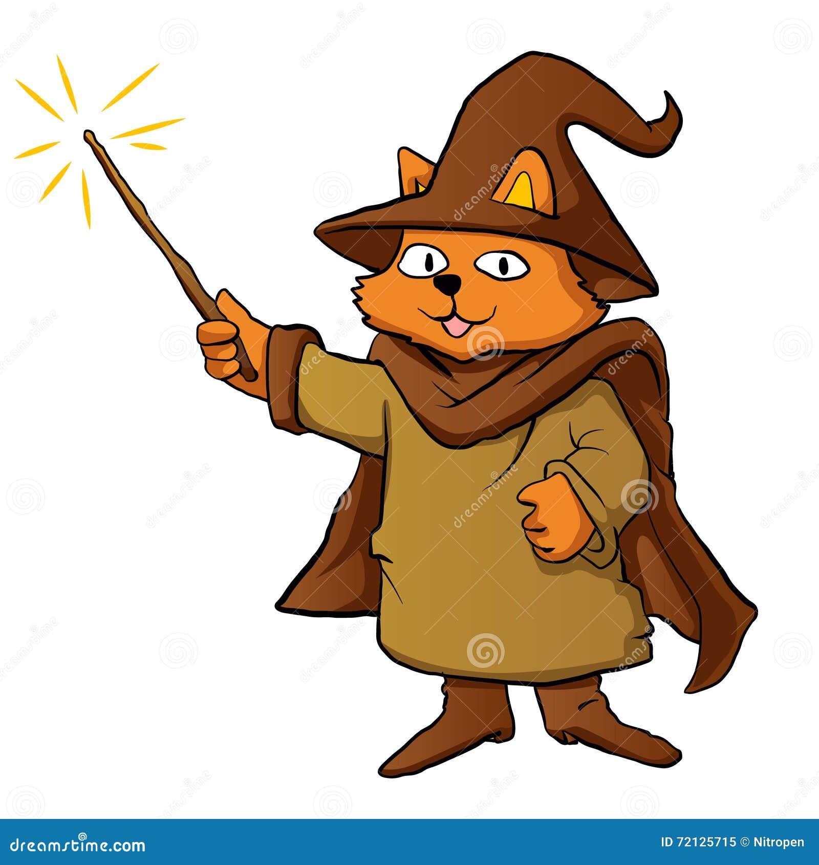 巫术师猫动画片