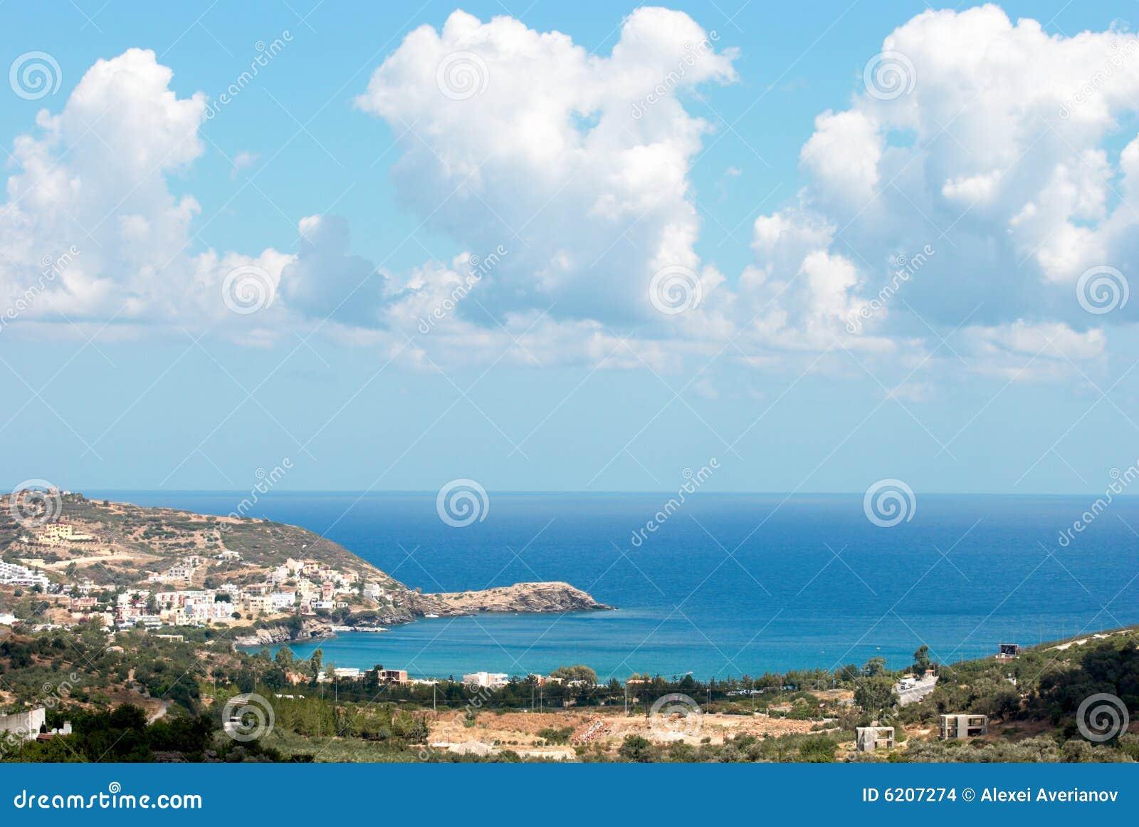 巴厘岛海湾克利特希腊