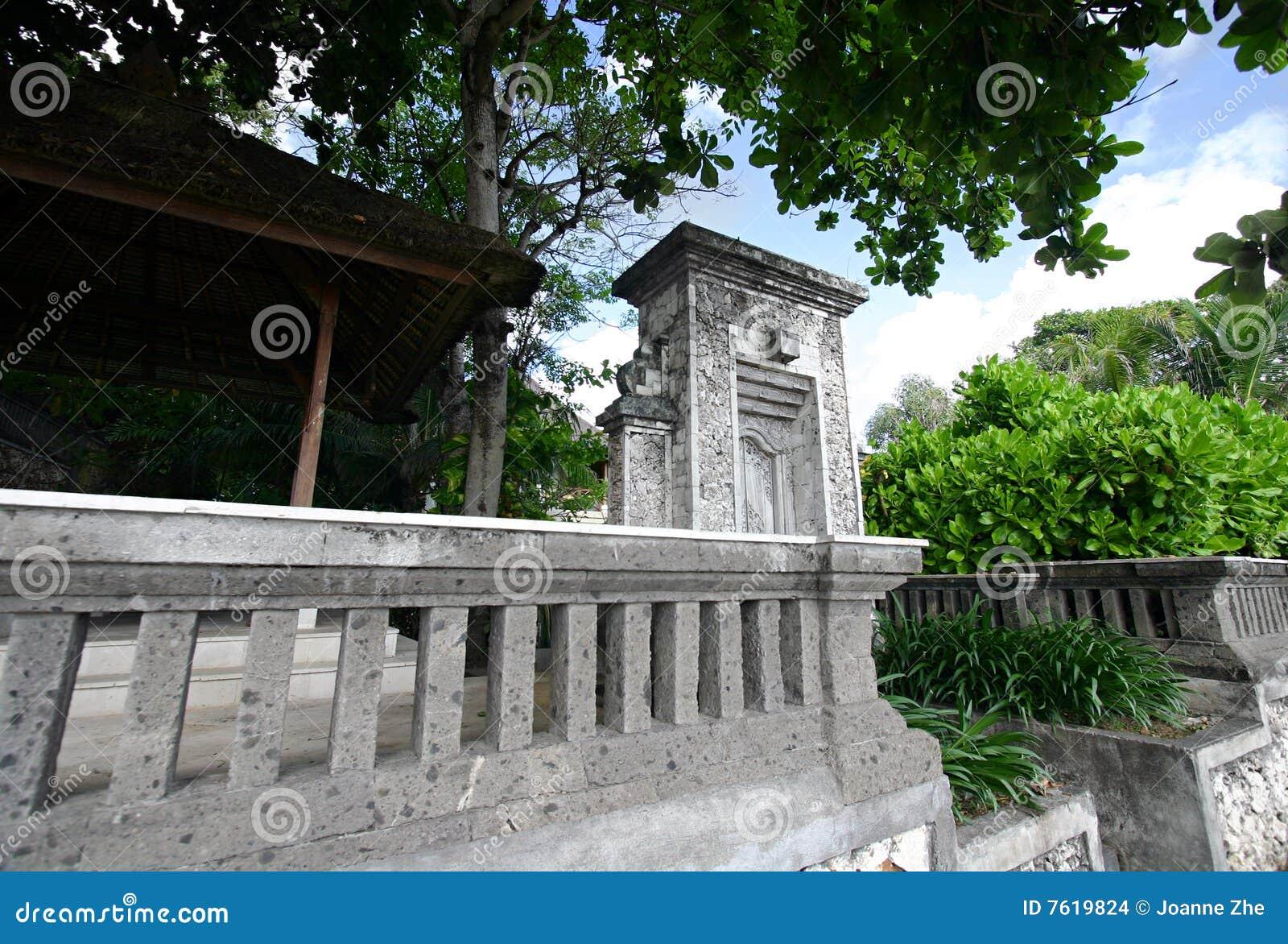 巴厘岛老入口房子
