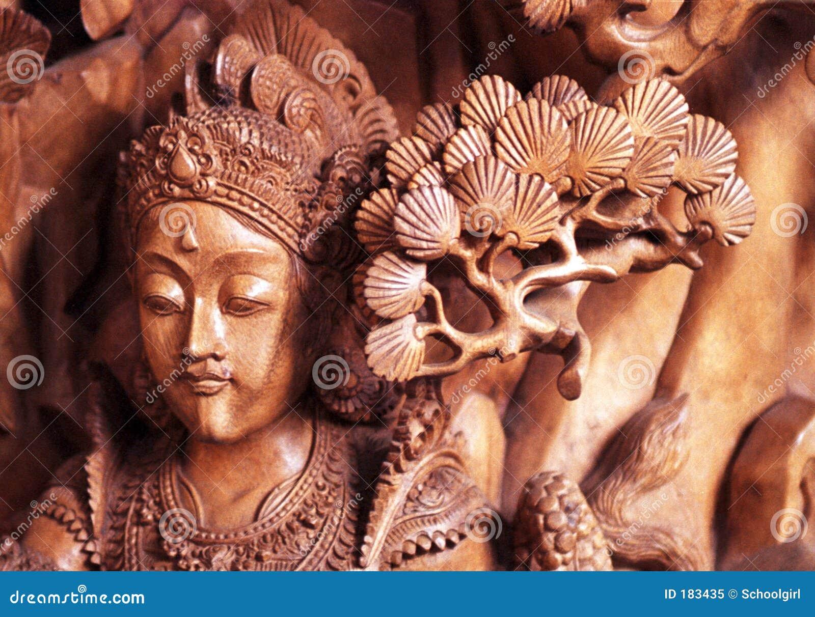 巴厘岛雕刻