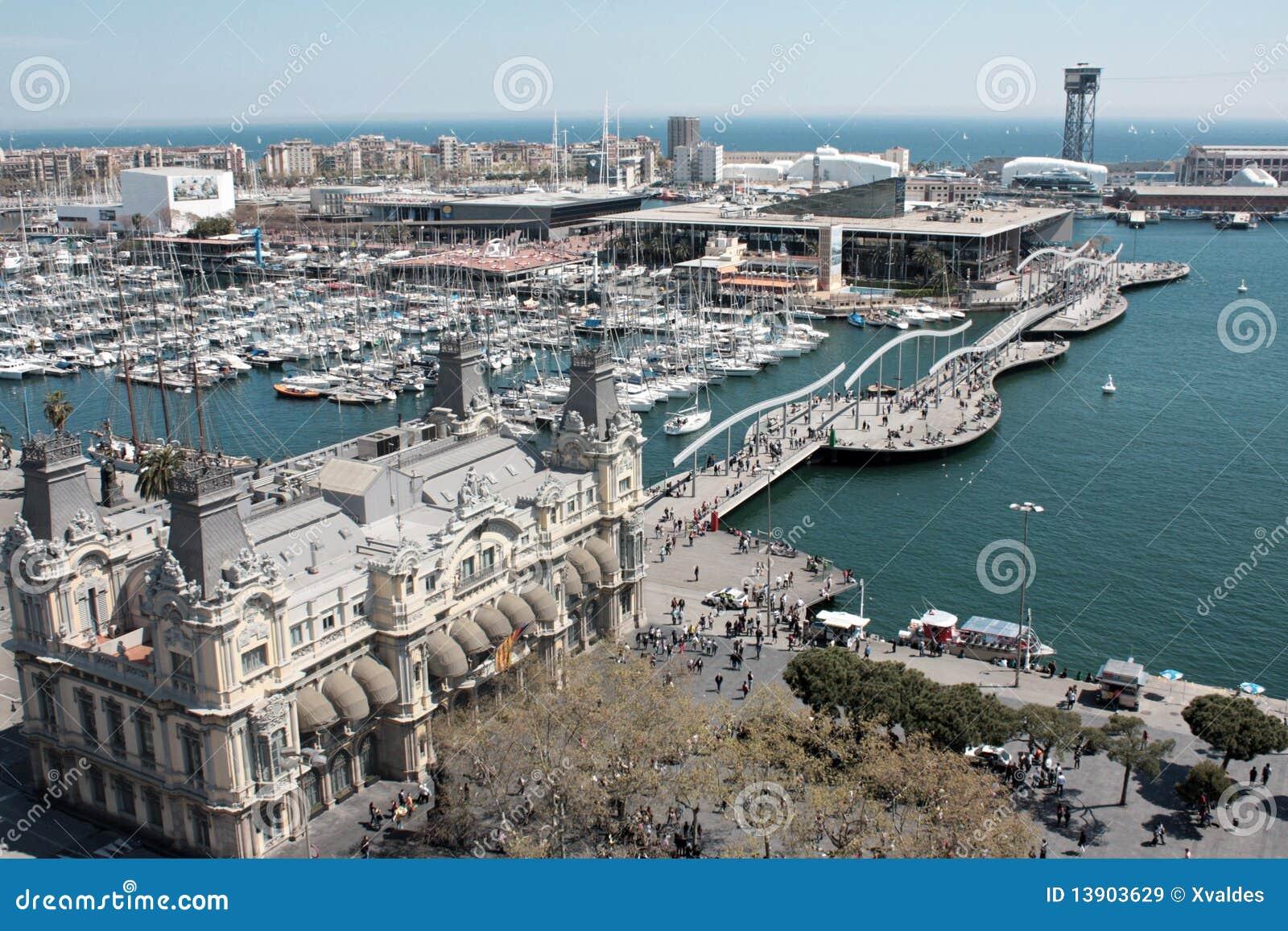 巴塞罗那端口