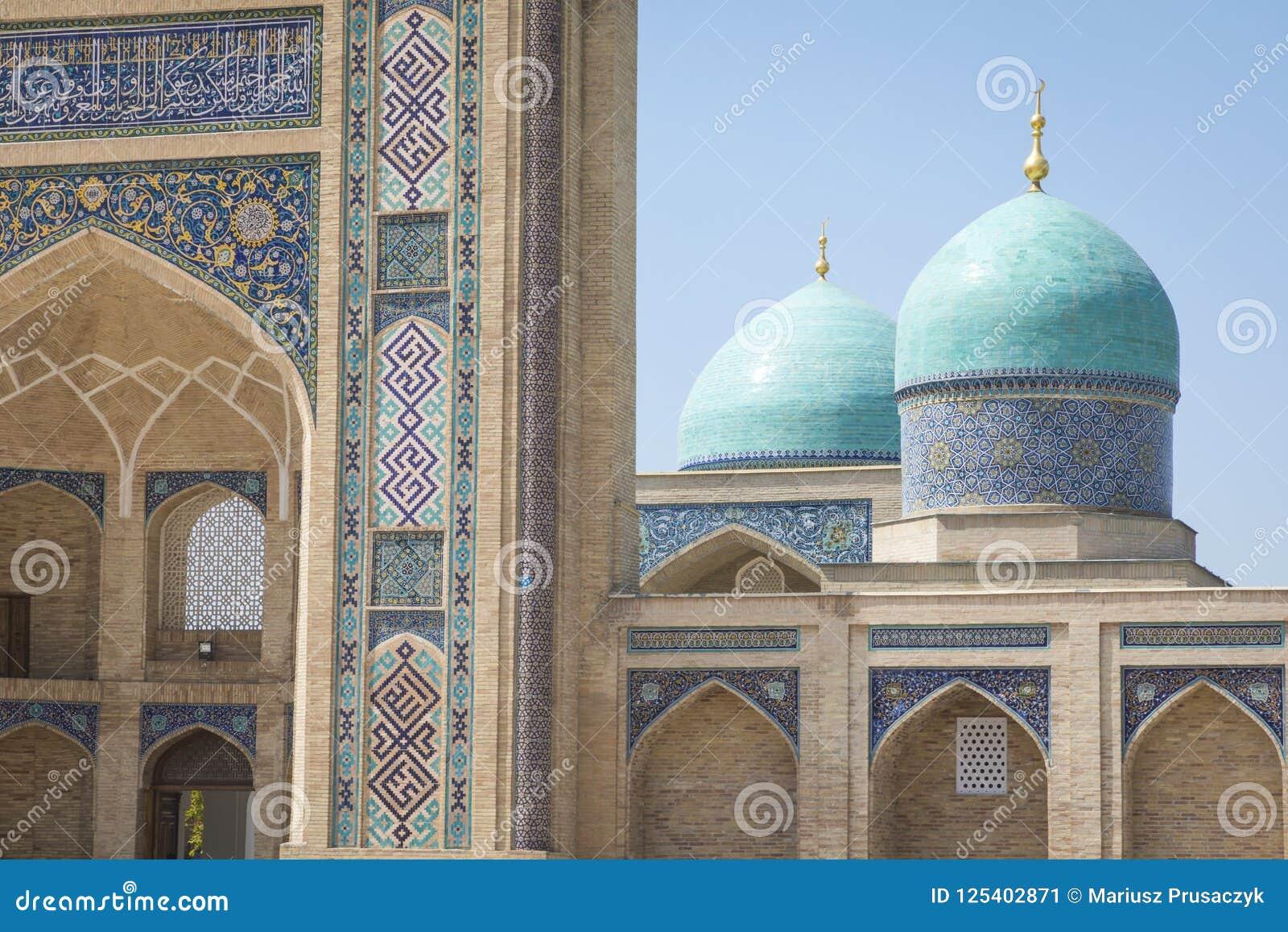 巴瑞克可汗madrasah Hast阿訇正方形Hazrati阿訇是religi