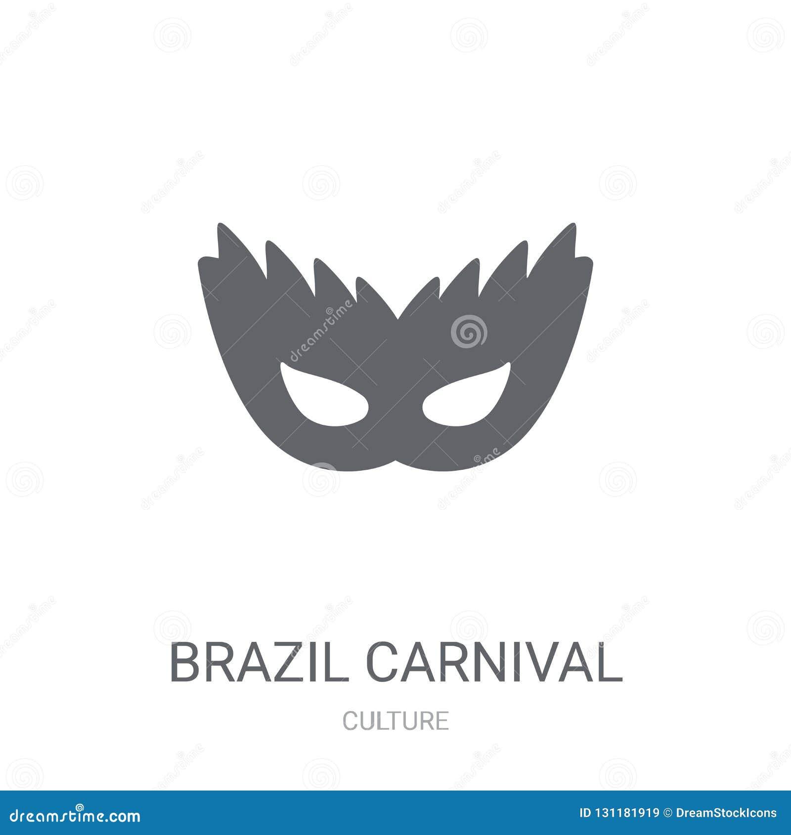 巴西狂欢节面具象