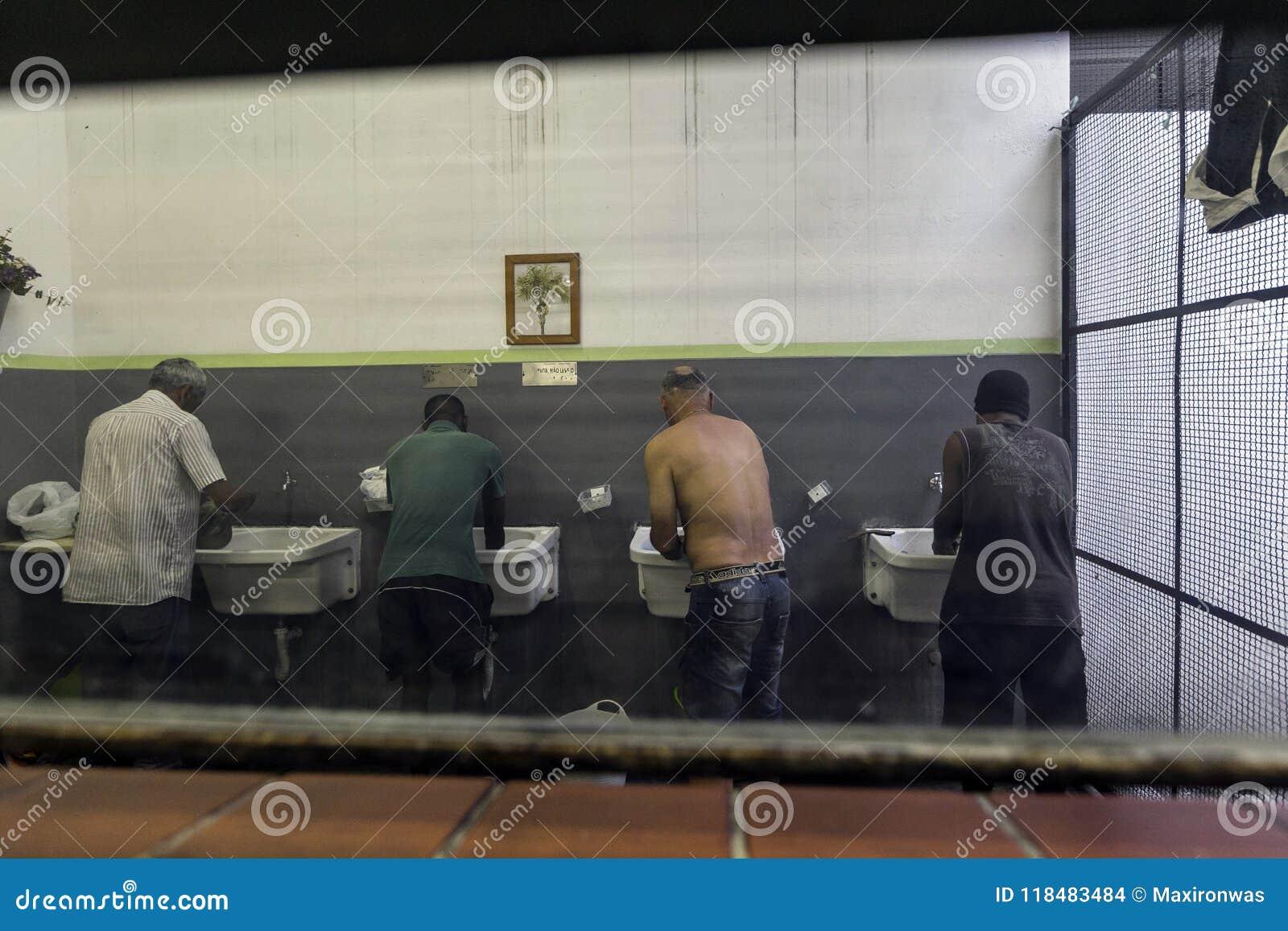 巴西-圣保洛- ONG Sermig -宿舍卫生间