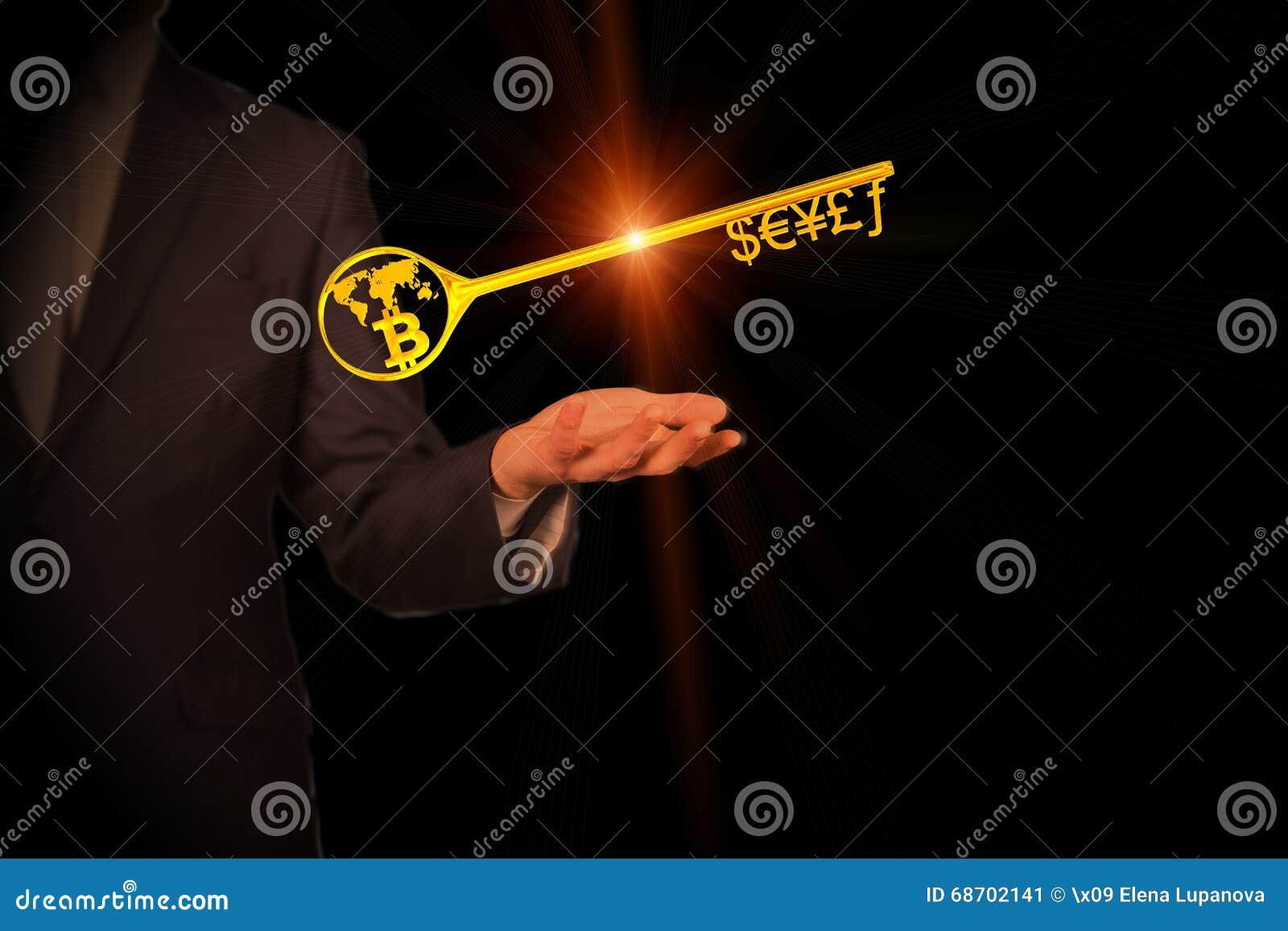 货币符号和Bitcoin的贿赂