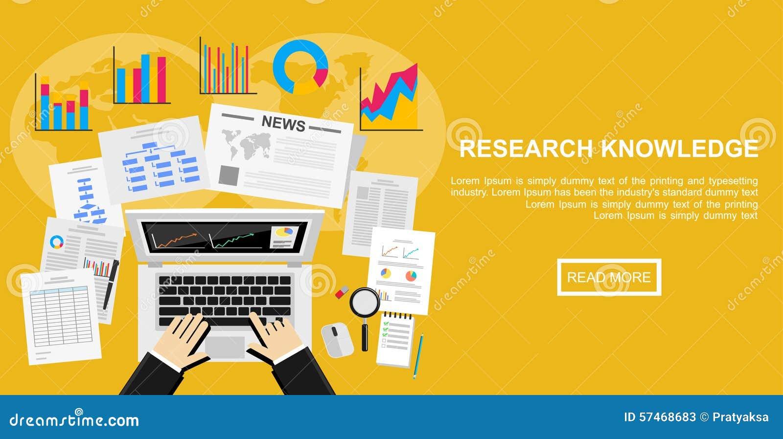 市场分析的,经营计划,投资,营销平的设计例证概念 报告,管理,市场研究