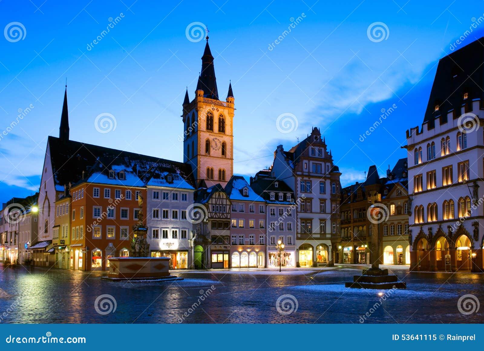 市场和圣Gangolf教会实验者的,德国