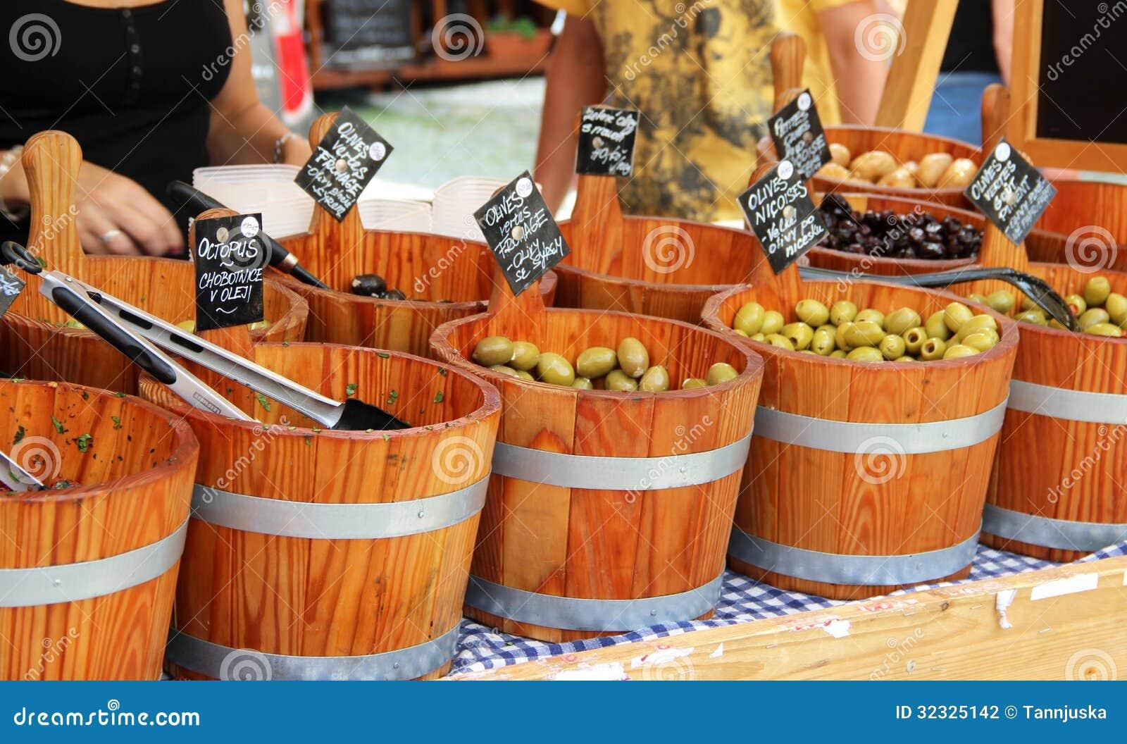 市场用橄榄