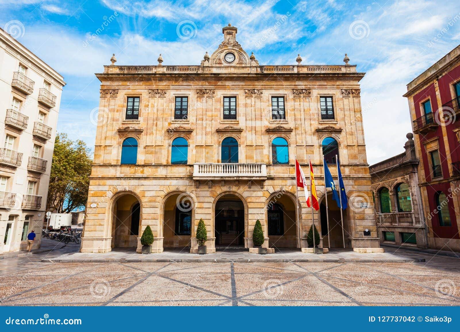 市议会Gijon在西班牙