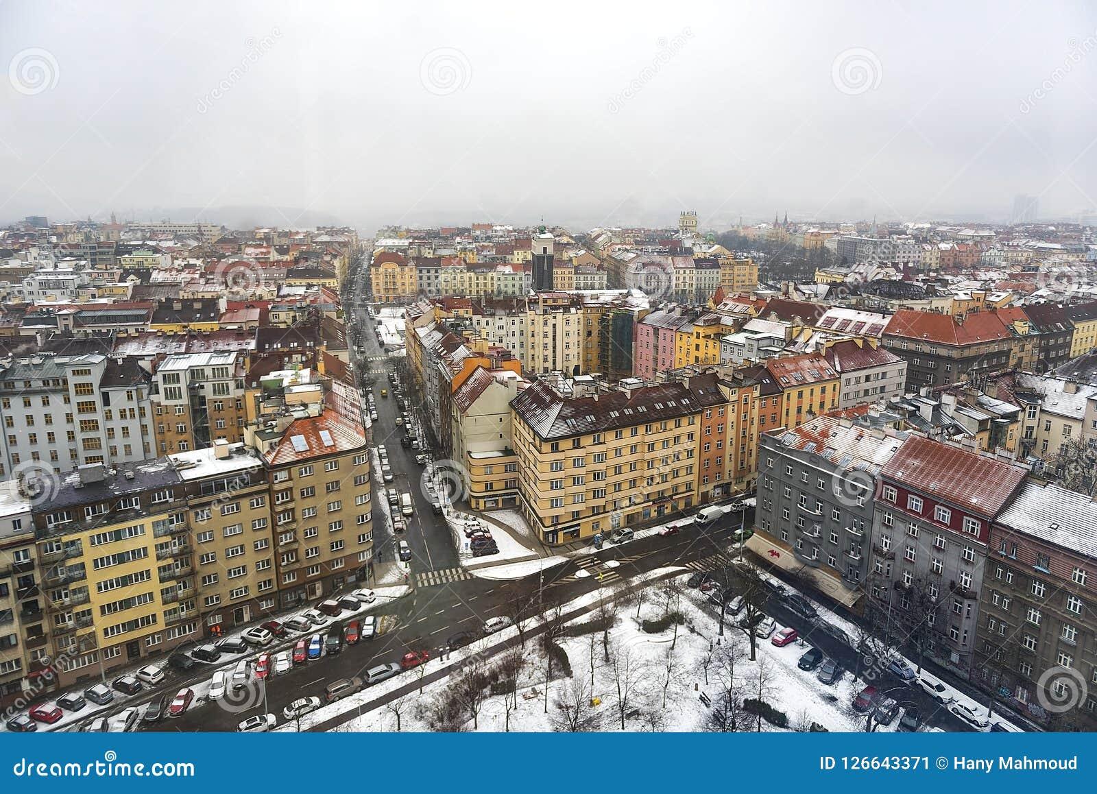 布拉格地平线一幅全景
