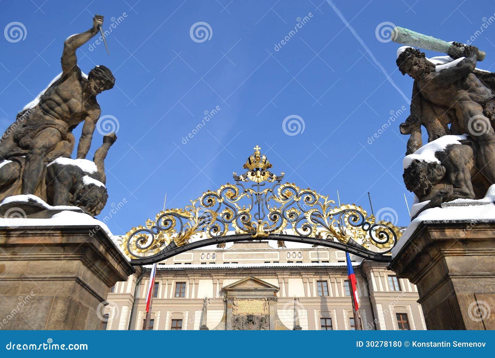 布拉格城堡入口