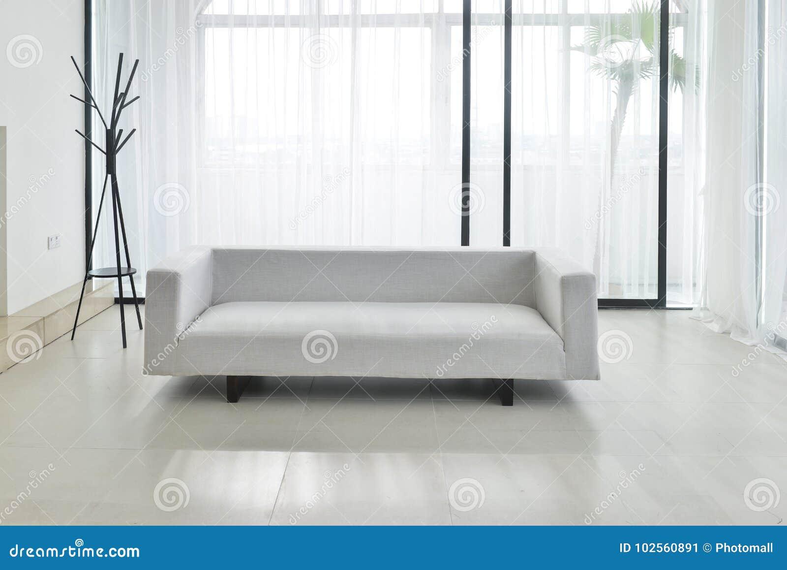 布料沙发在客厅
