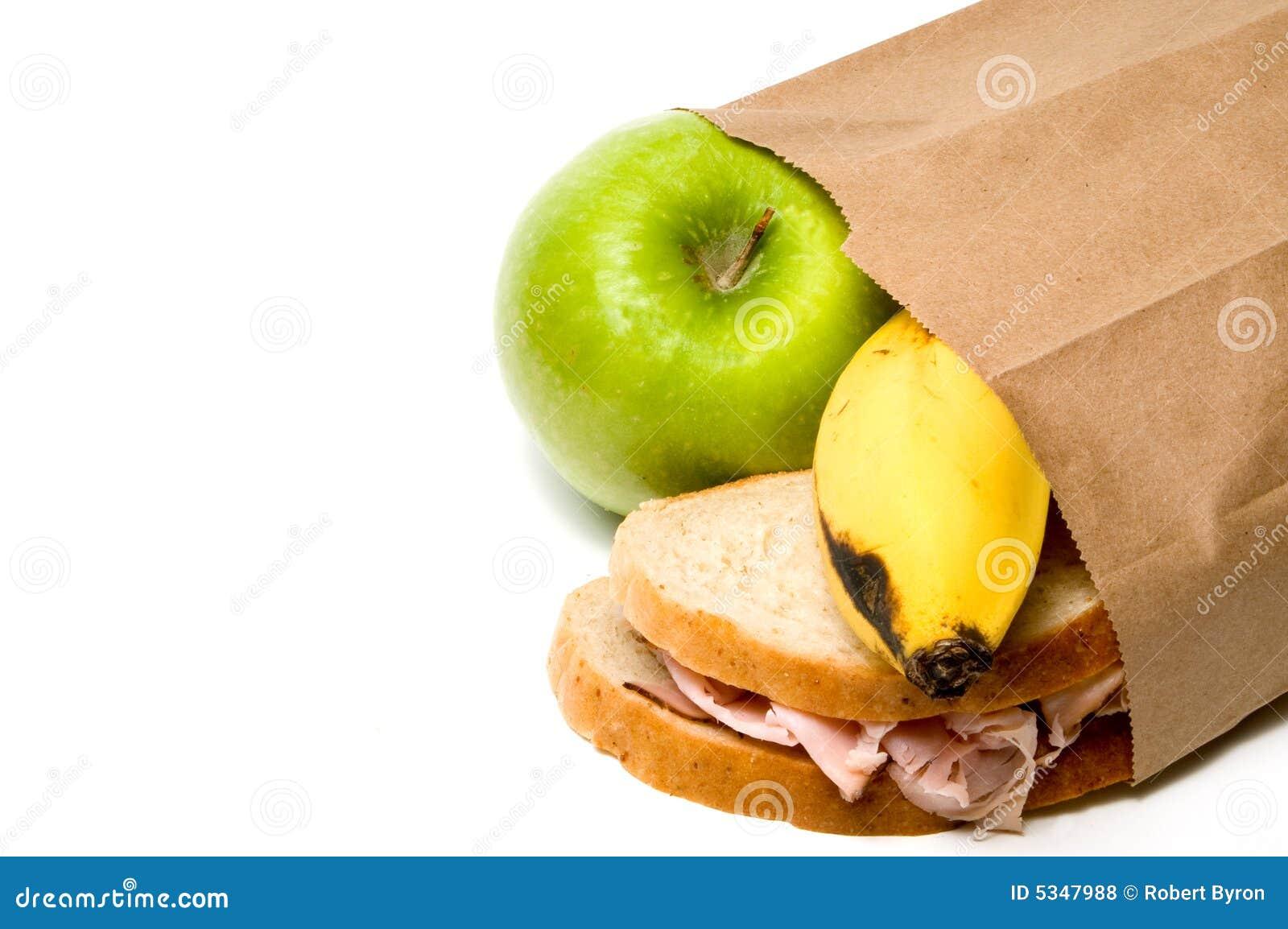 布朗袋子午餐