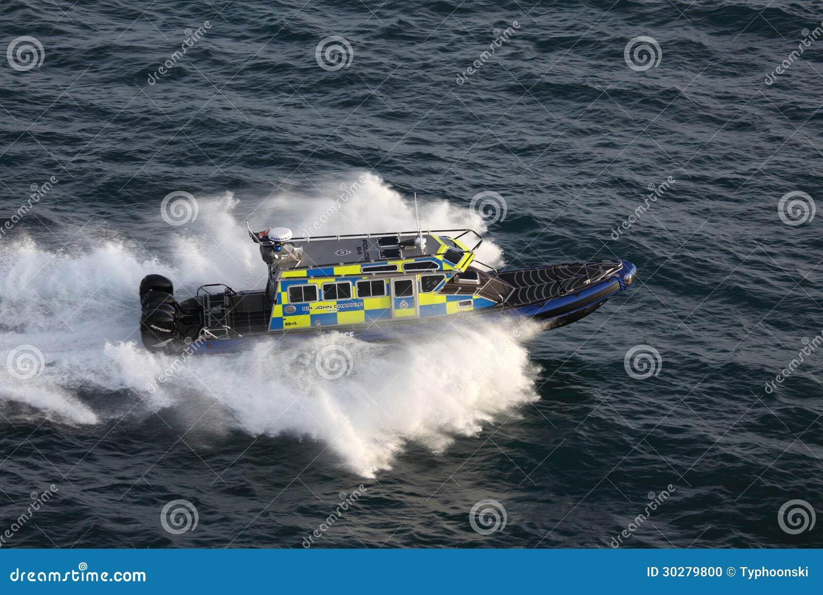 直布罗陀海岸警卫速度小船