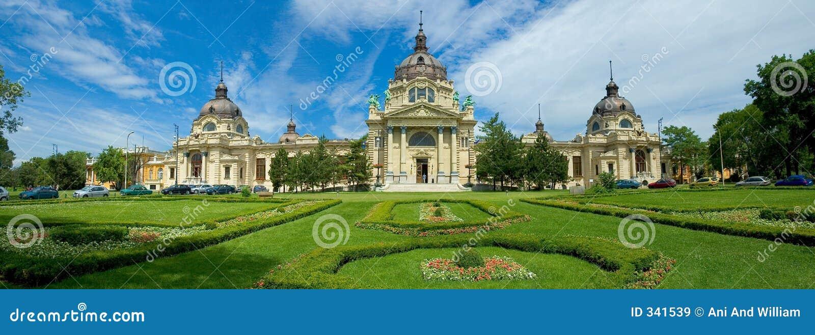 布达佩斯城堡庭院匈牙利