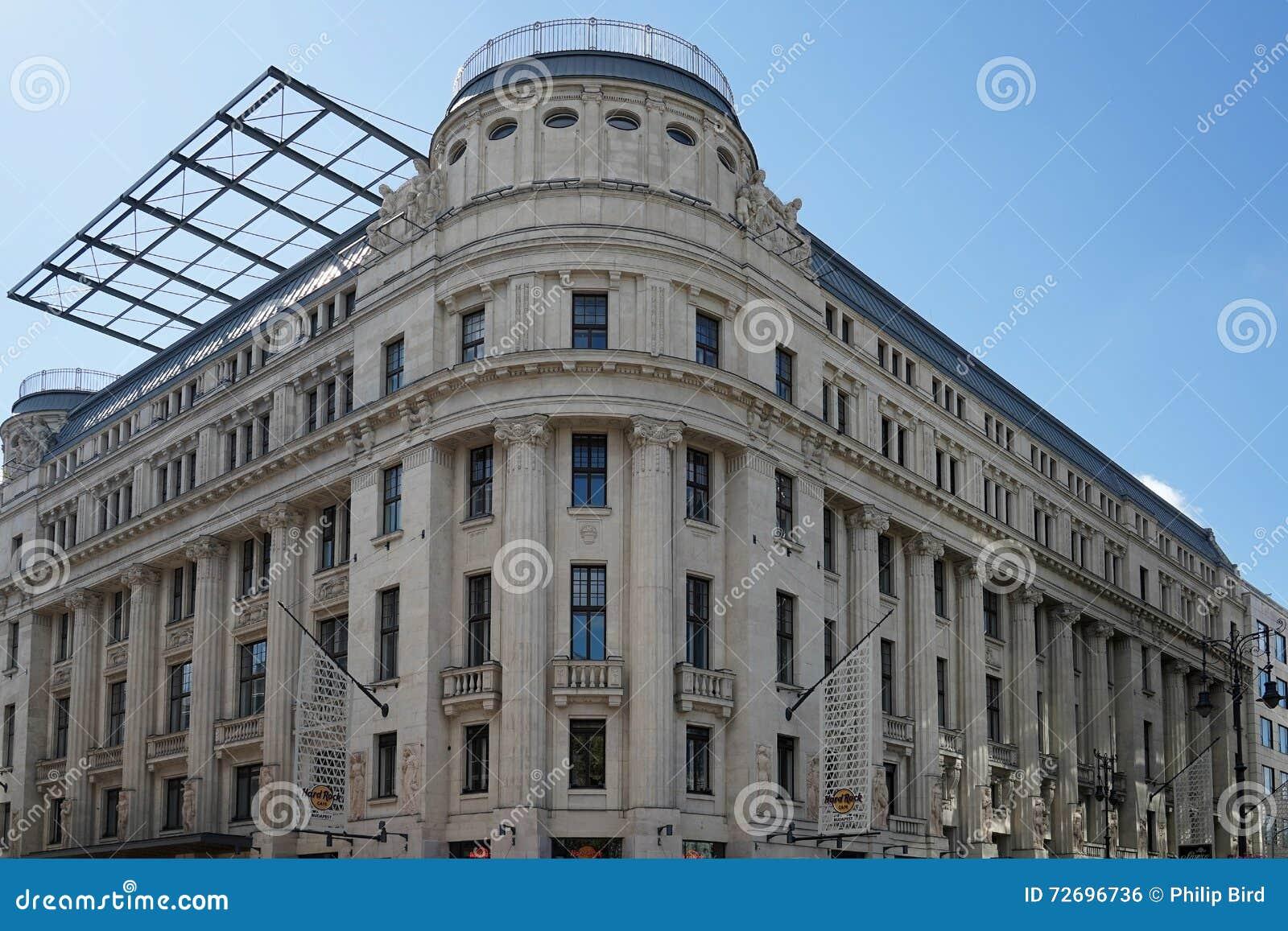 布达佩斯, HUNGARY/EUROPE - 9月21日:硬石餐厅buildin