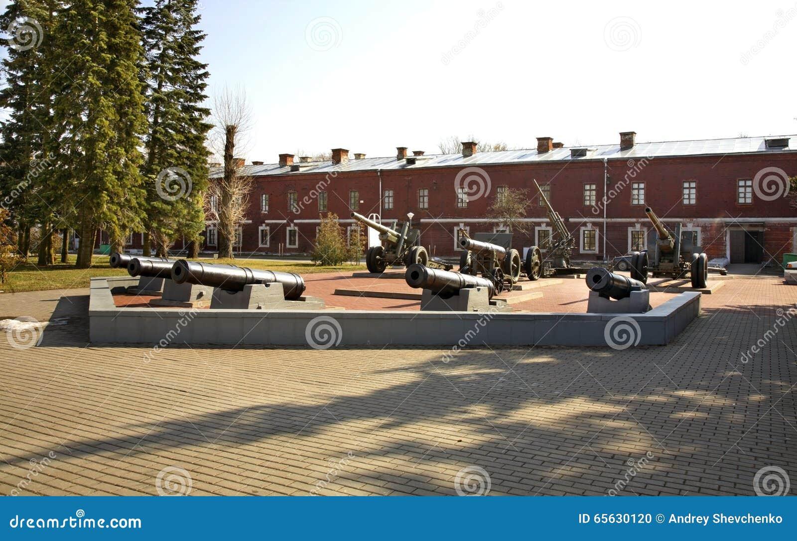 布雷斯特Litovsk fortres在布雷斯特布雷斯特