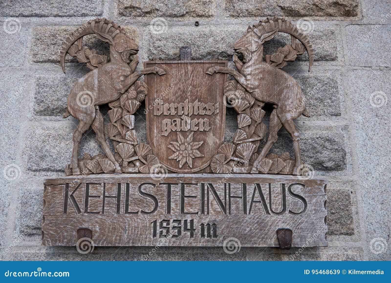希特勒` s Kehlsteinhaus撤退的木冠