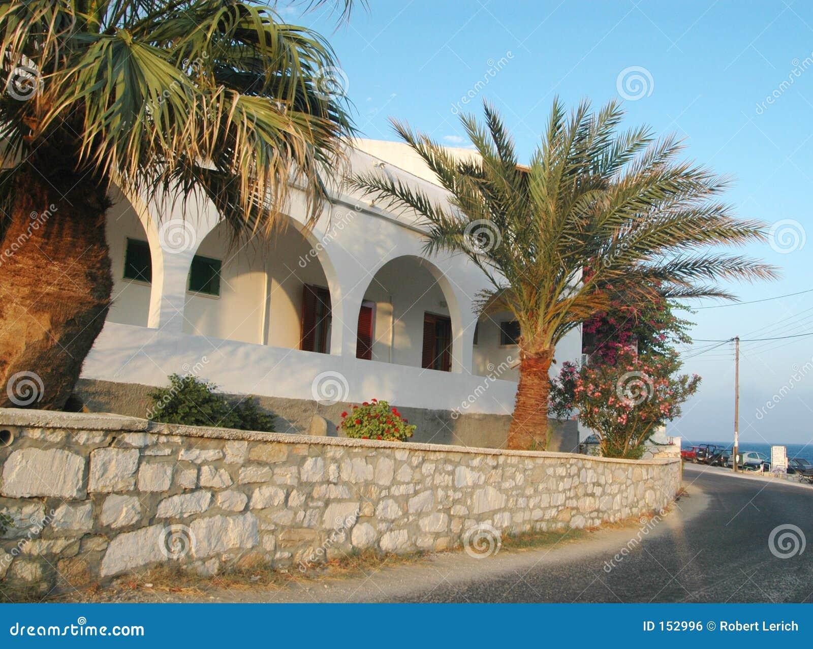 希腊旅馆海岛