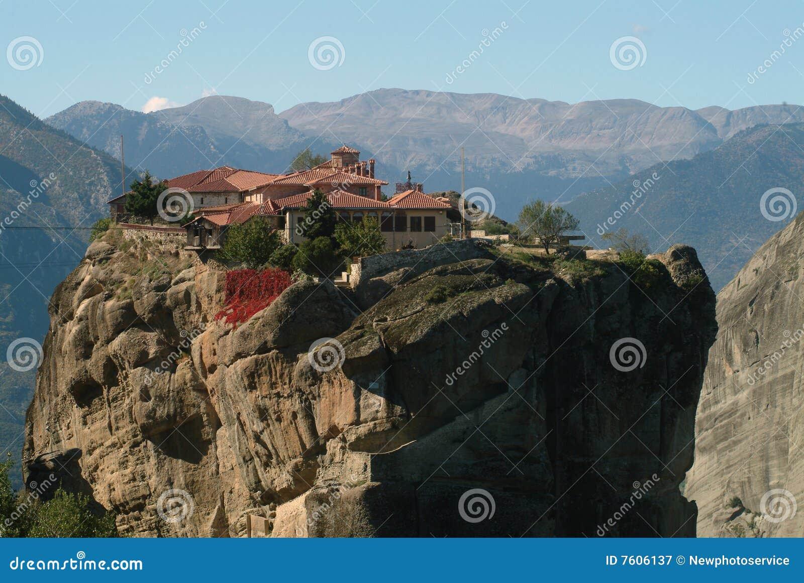 希腊meteora修道院