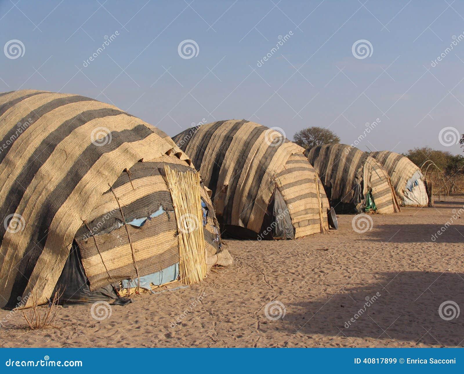 帐篷在非洲