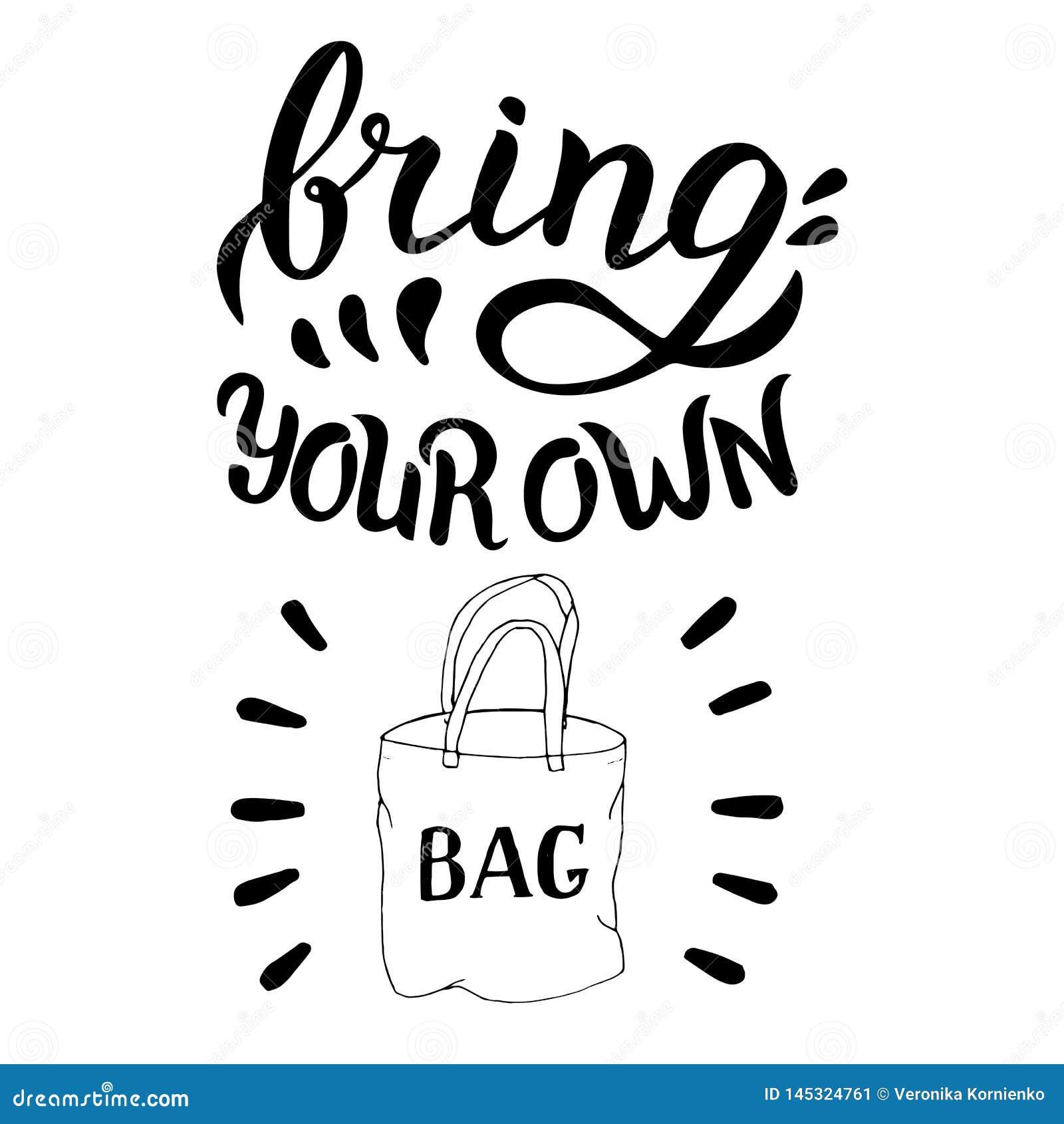 带来您自己的袋子行情 r r