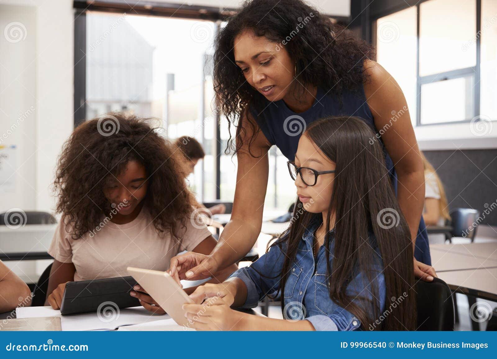 帮助有技术的老师高中学生