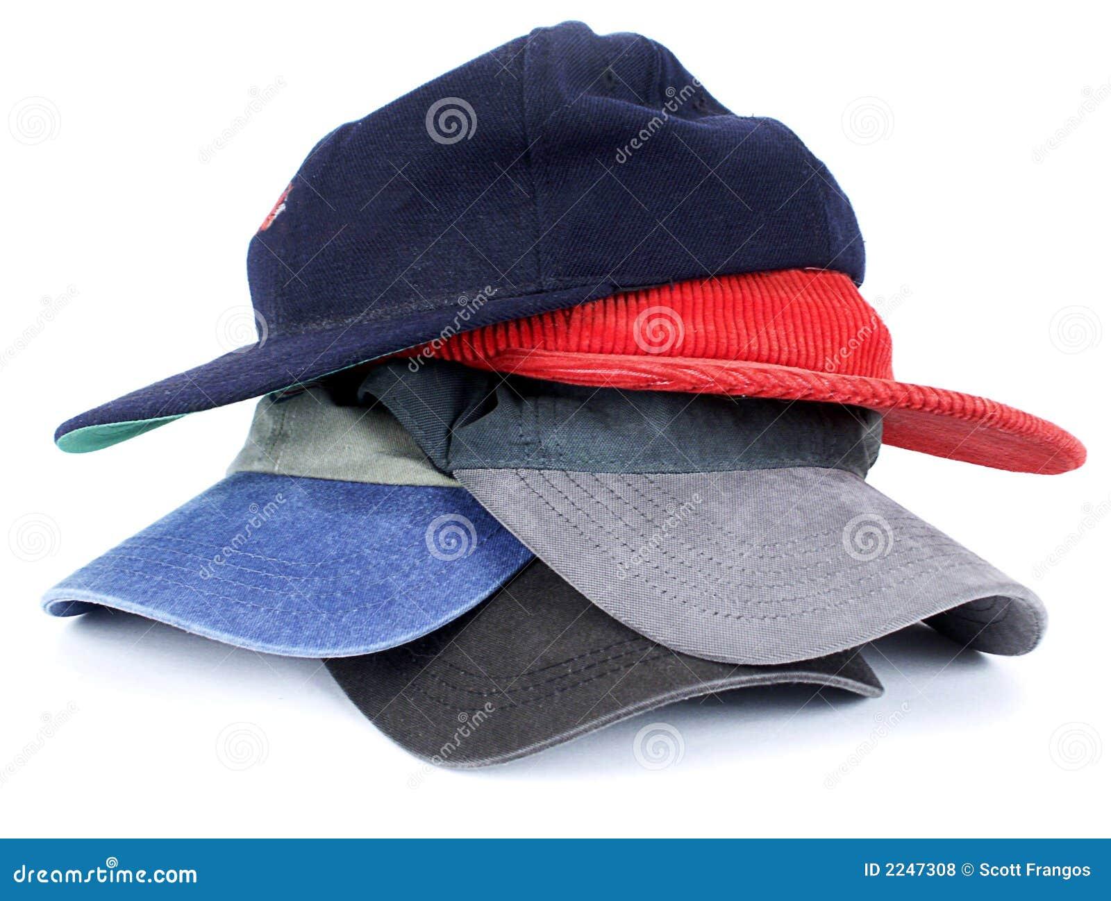 背景球布料五颜六色的帽子查出的人s堆积样式白色.图片