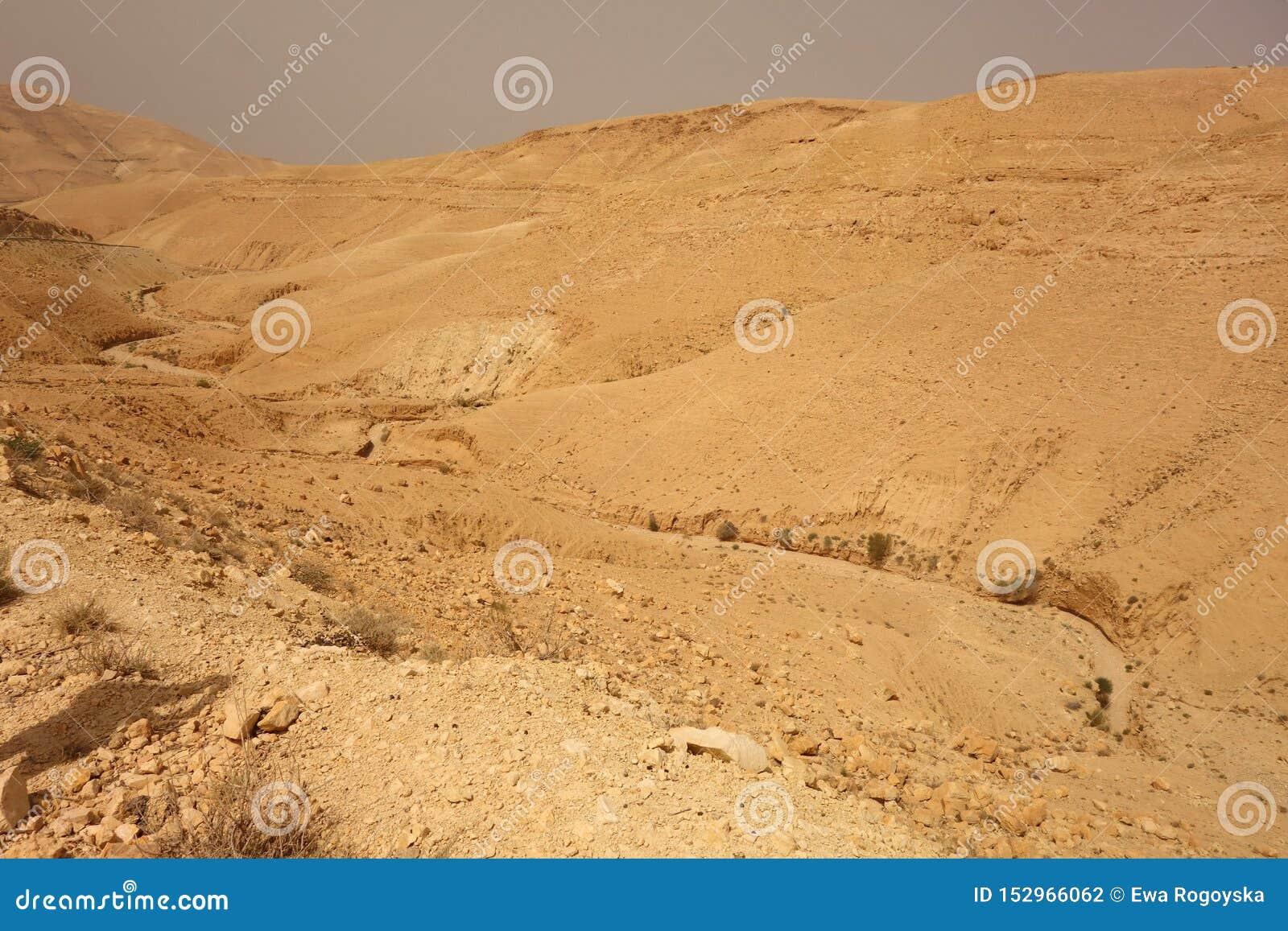干燥河在约旦