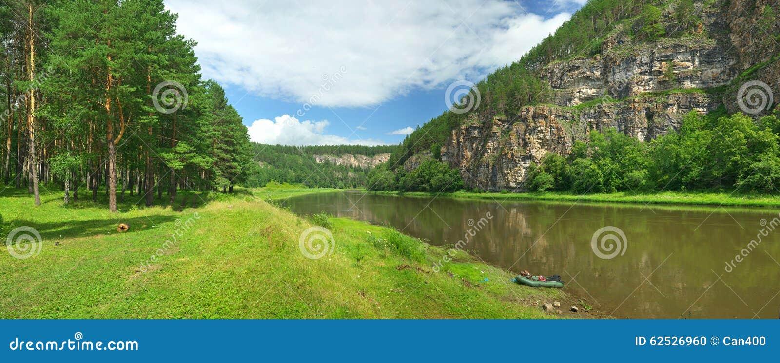 干草河 俄罗斯,南乌拉尔