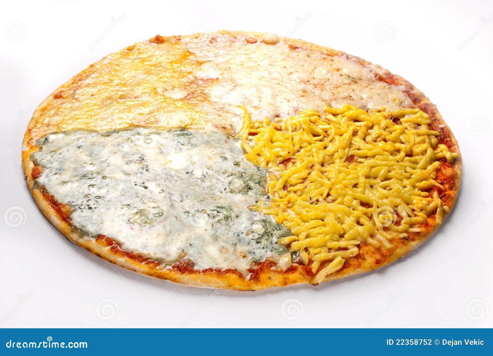 干酪四薄饼