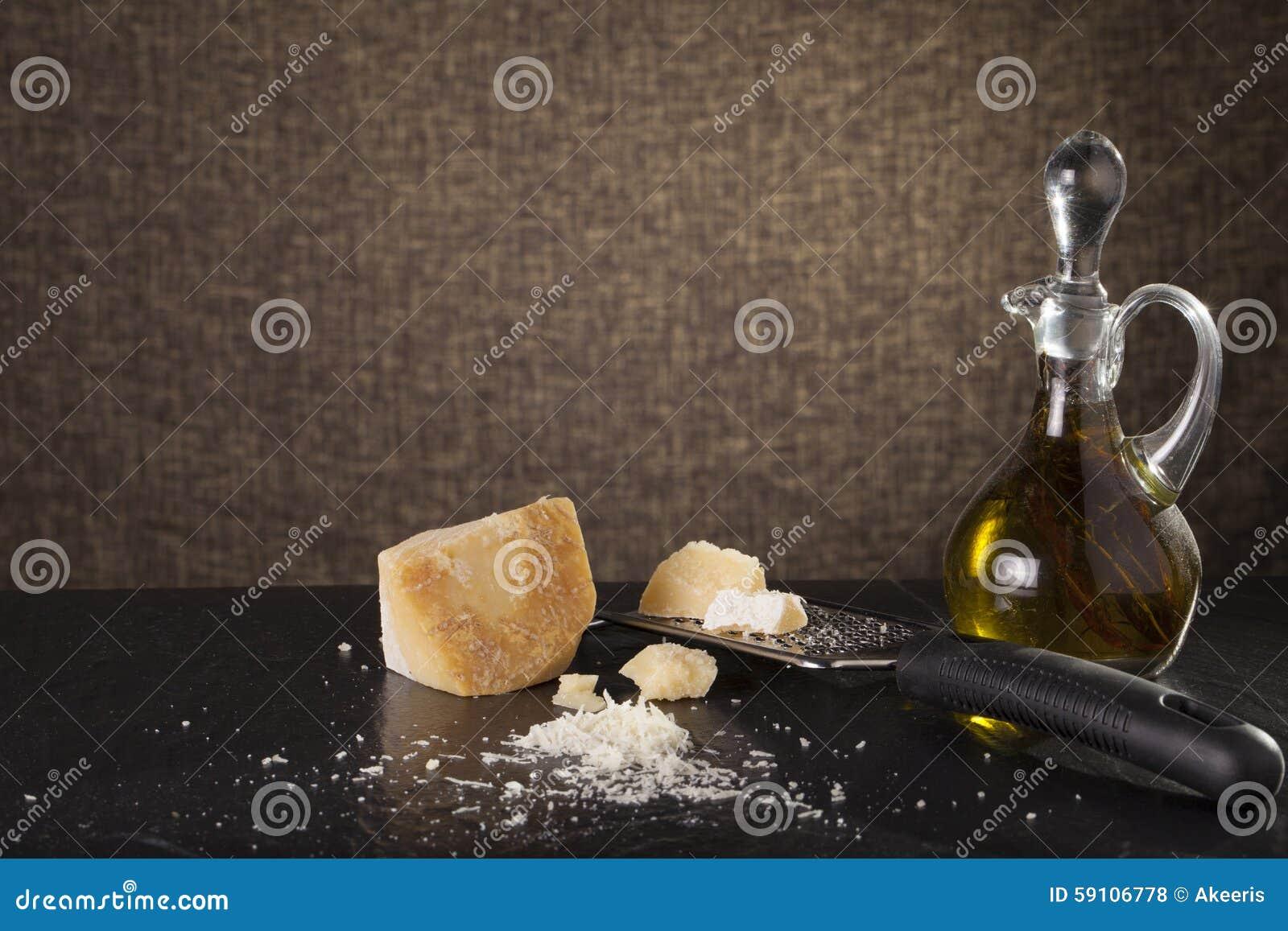 干酪磨碎了