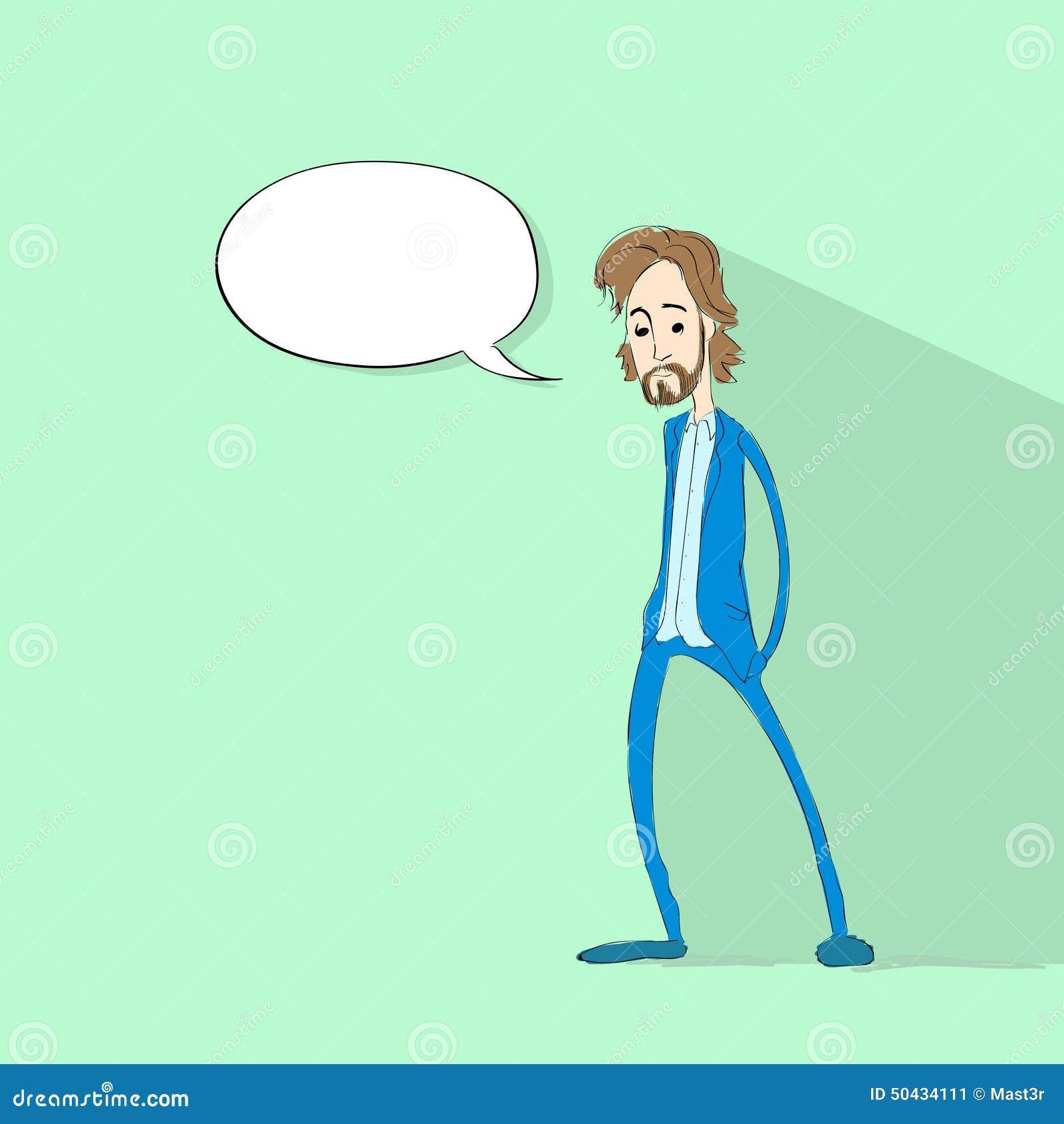 人闲谈通信社会网络颜色平的象设计传染媒介例证.图片