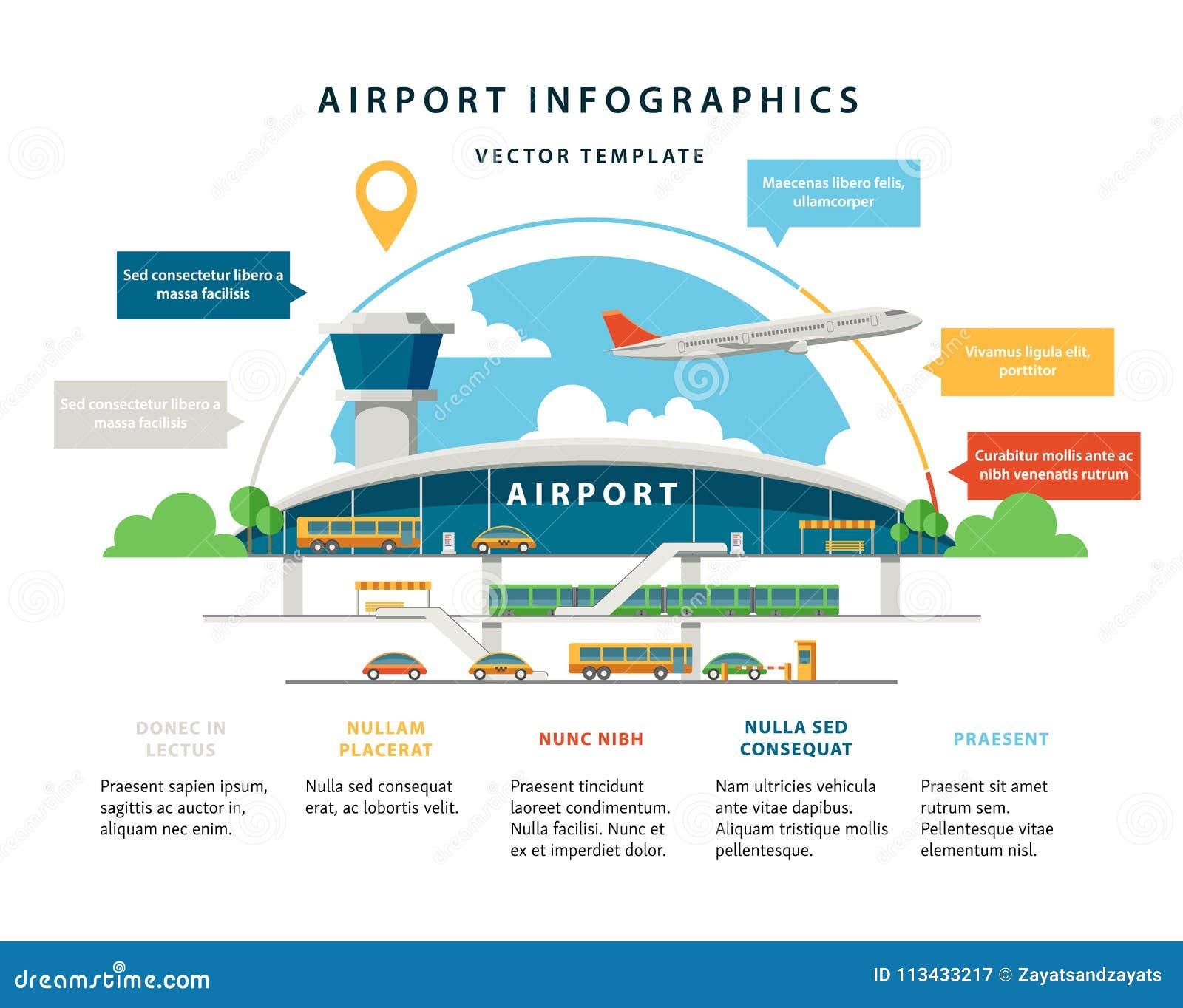平的传染媒介机场