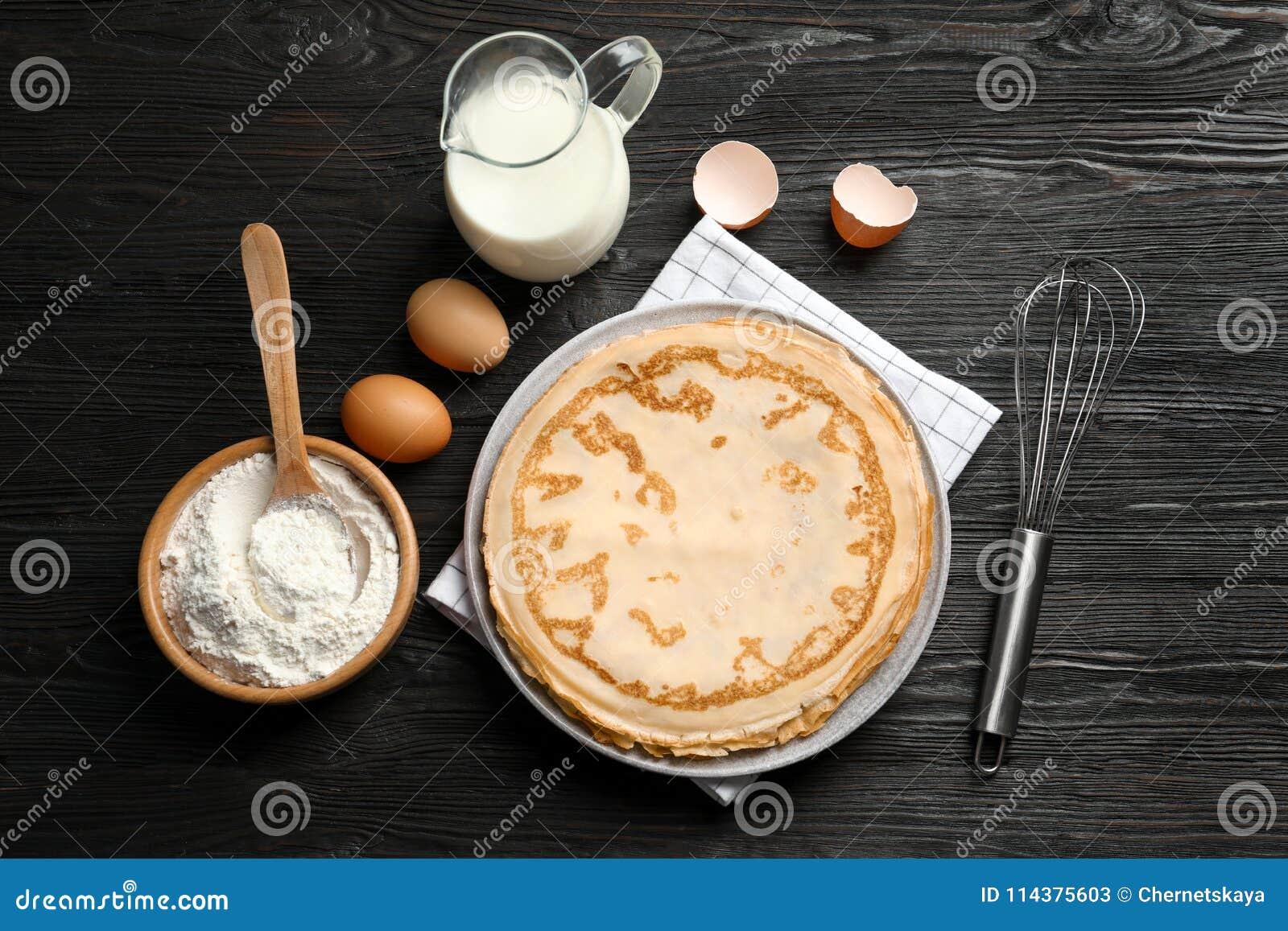 平的位置构成用稀薄的薄煎饼和成份