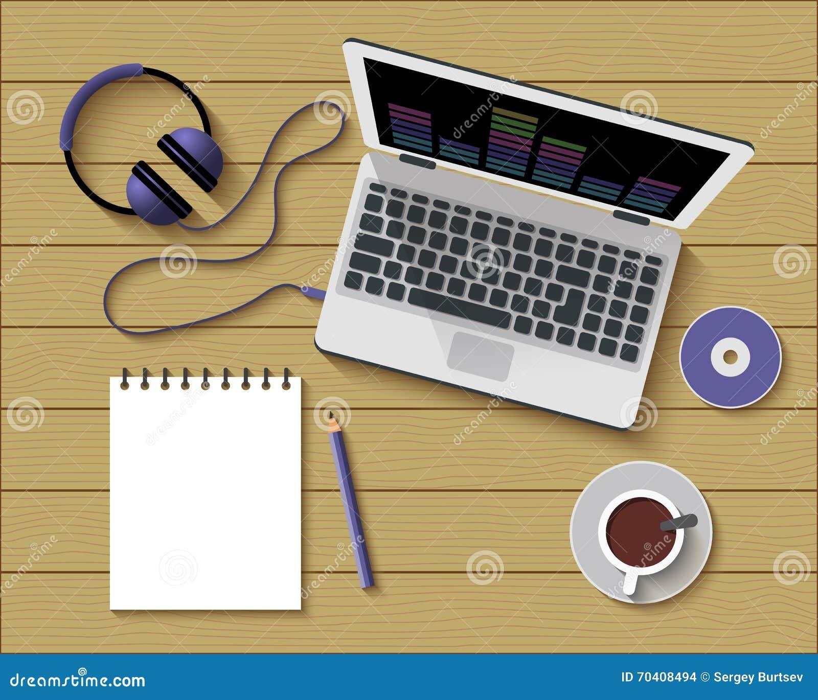 平的办公室工作场所样式现代设计