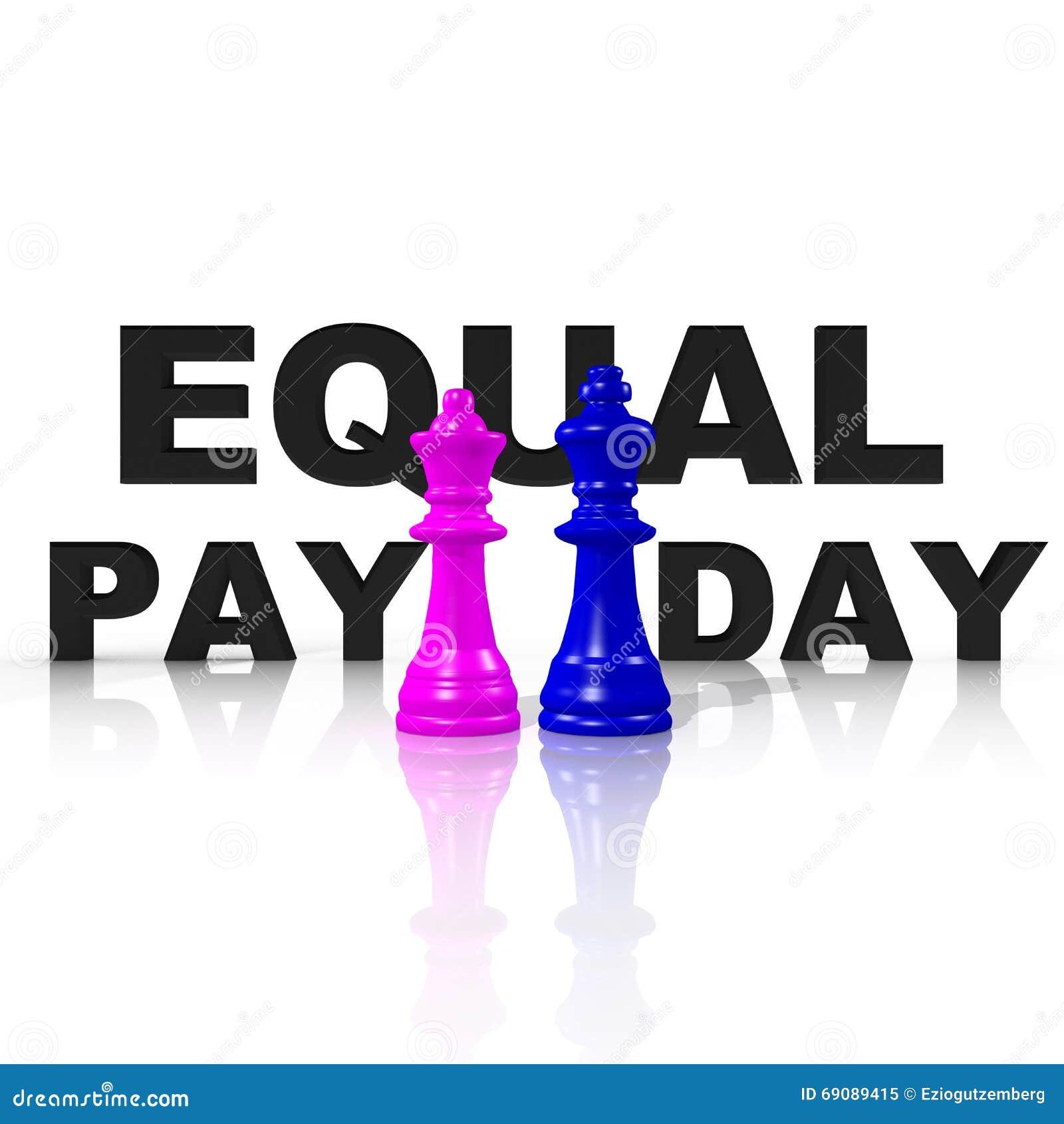 平等的标志在男人和妇女之间