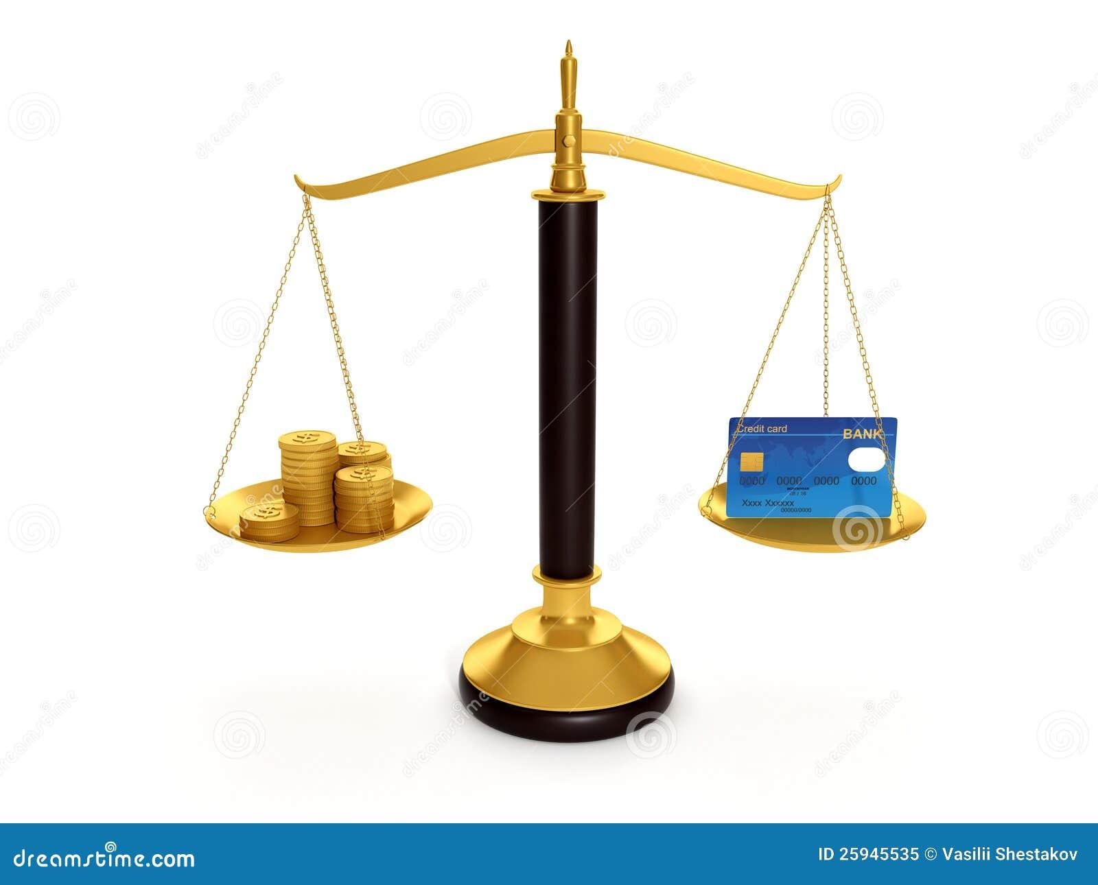 平衡信用卡和金币