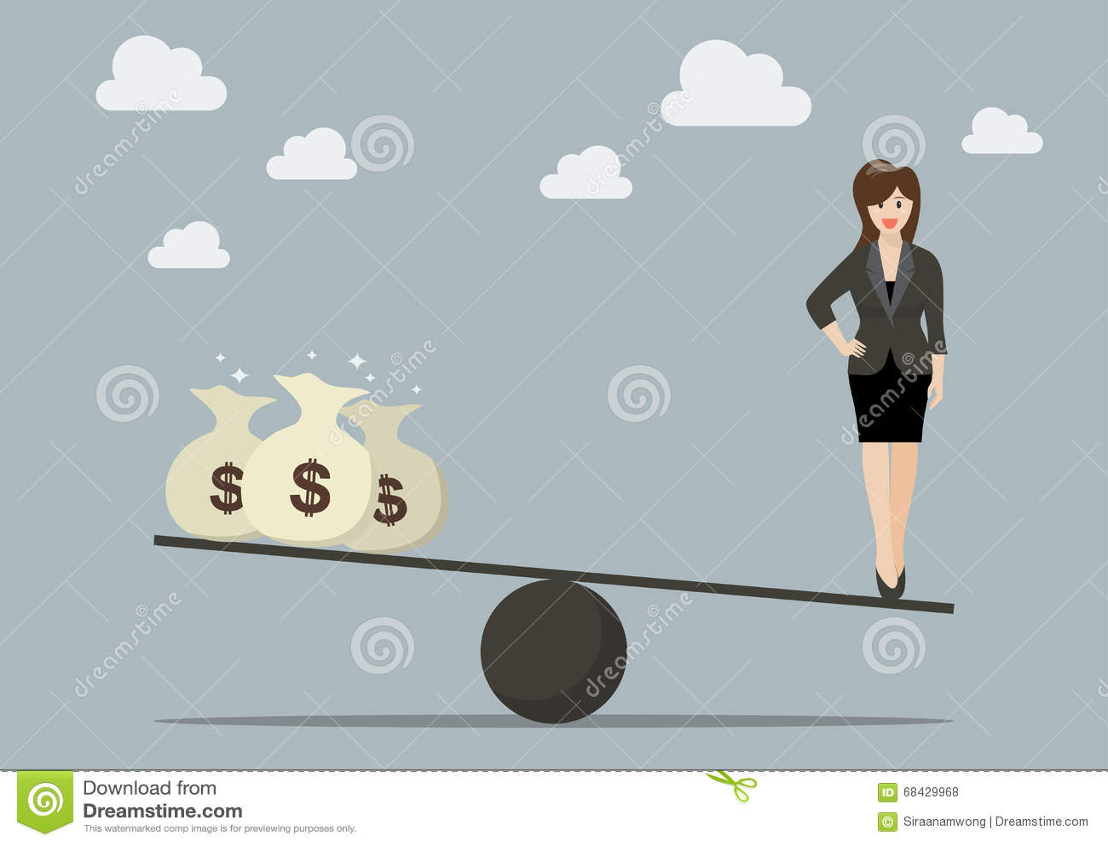 之间_平衡在工作和金钱之间
