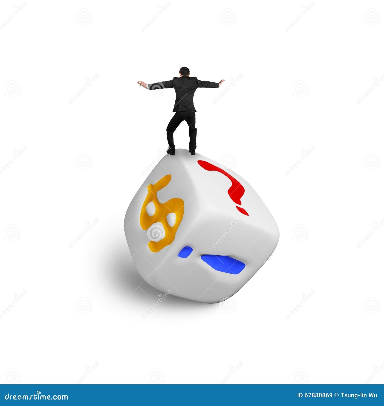 平衡在美元的符号模子的商人
