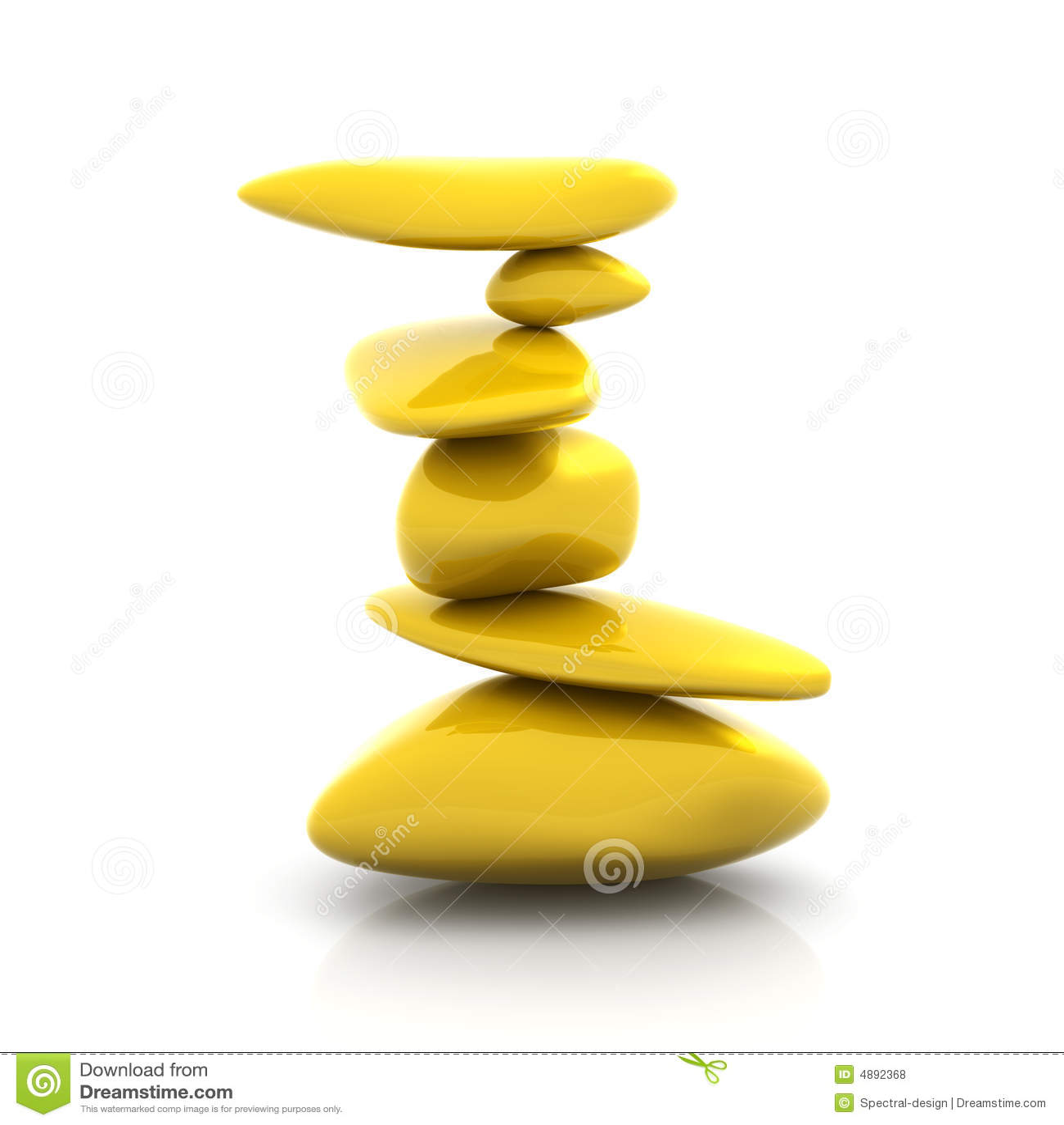 平衡的块金
